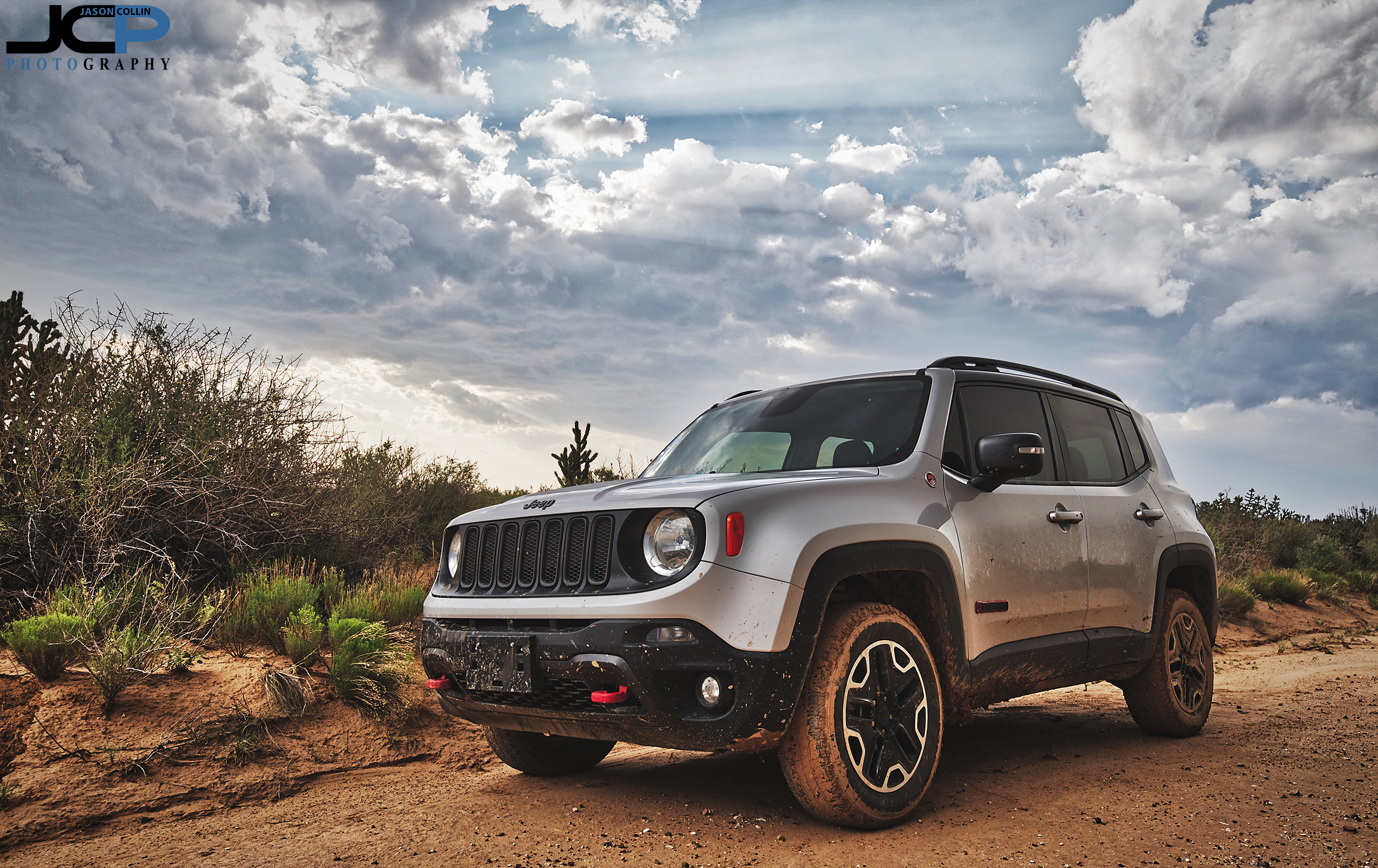 Jeep Renegade Trailhawk offroad in Rio Rancho
