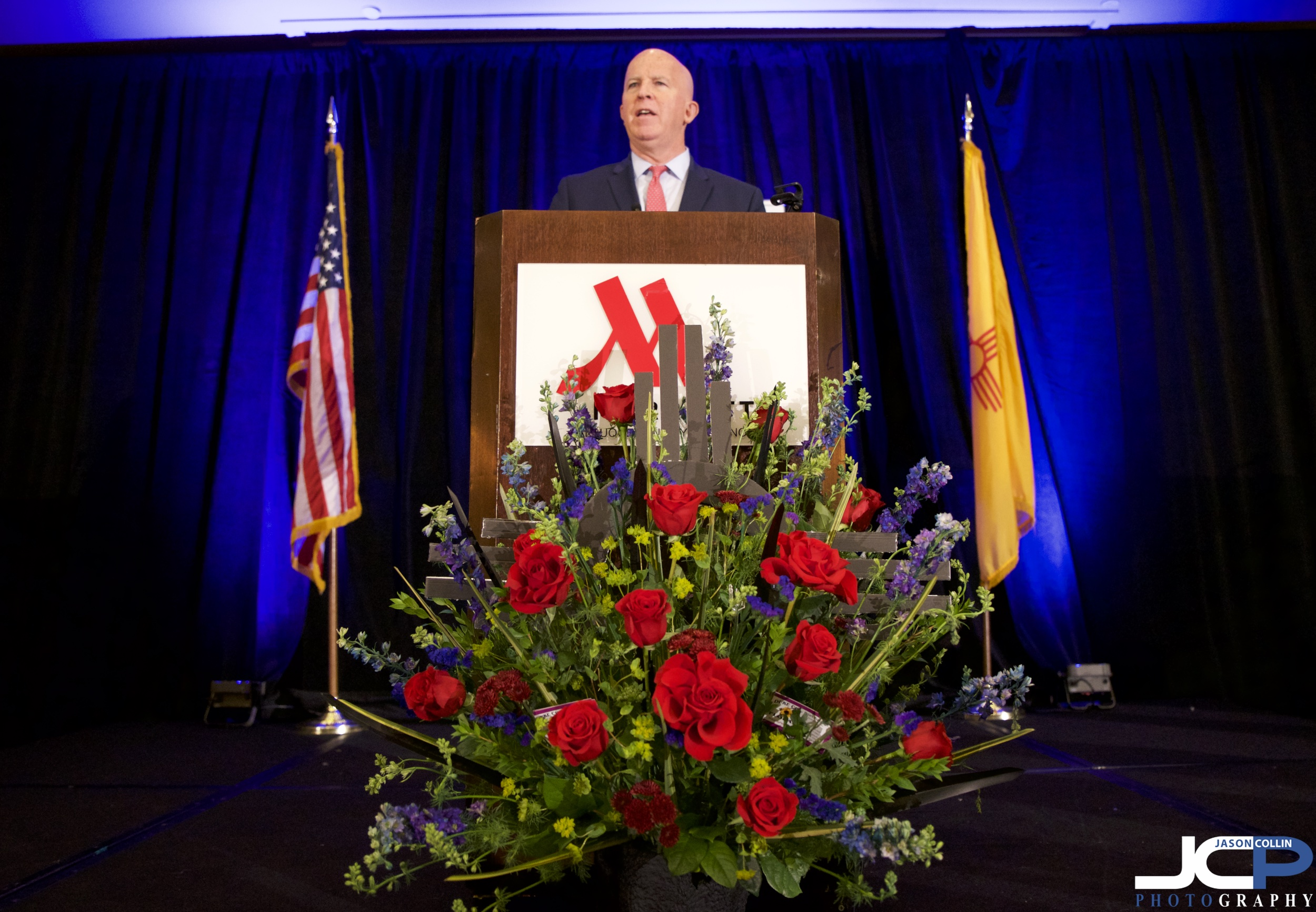 New York City Police Commissioner James P. O'Neill speaking in Albuquerque, New Mexico