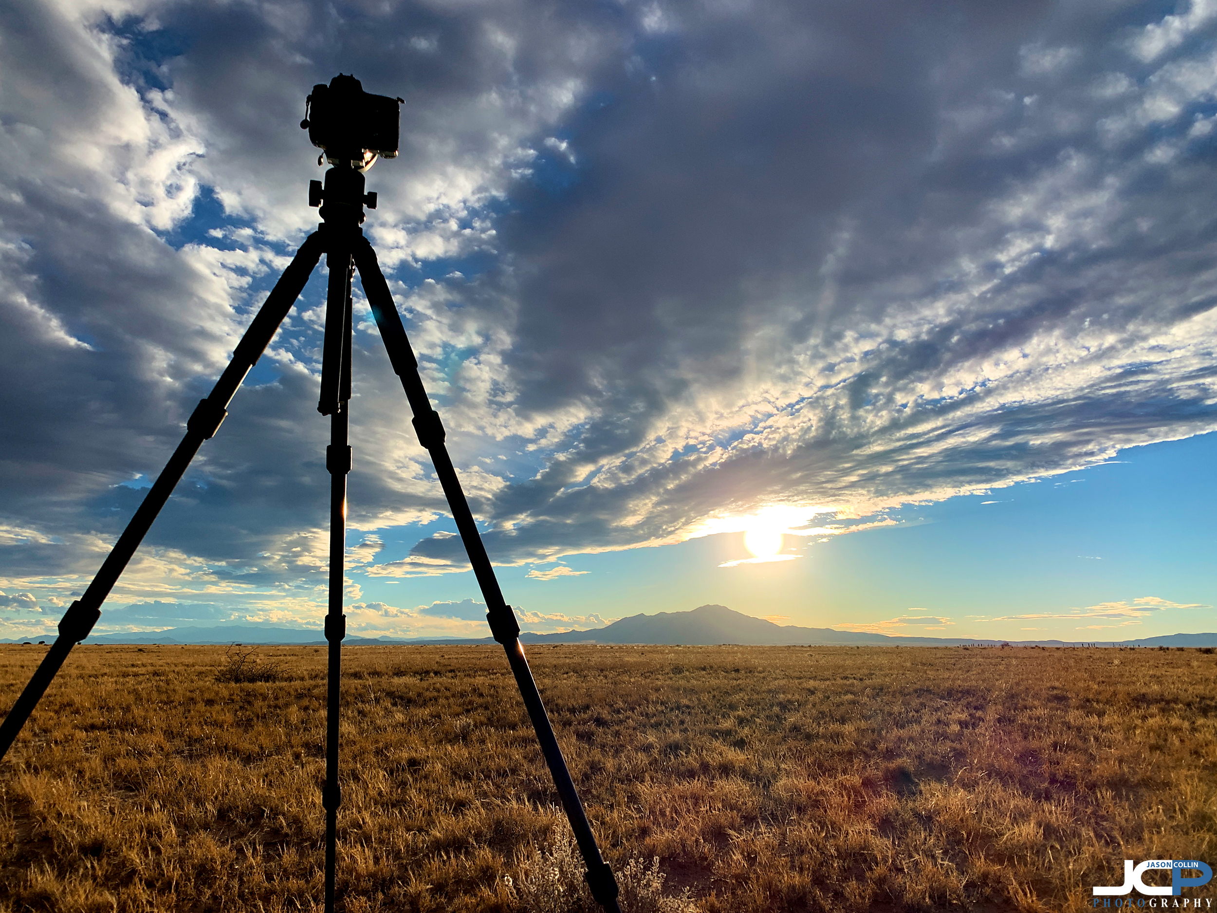 My HDR sunset setup - Nikon D750 with Tamron 15-30mm f/2.8 SP lens on an Indoor carbon fiber tripod - this photo made with an iPhone XS