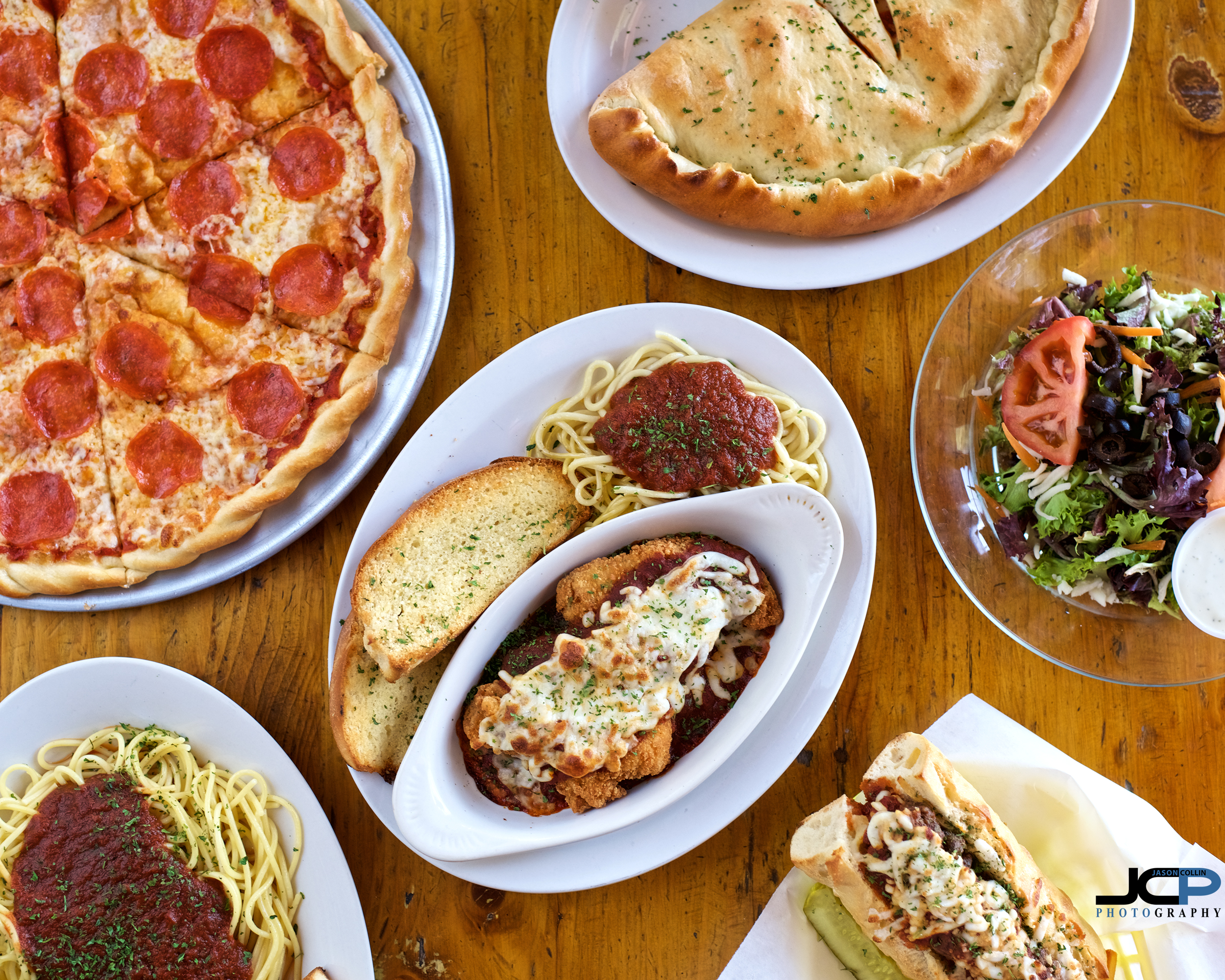 hero pizzeria shot food photography abq