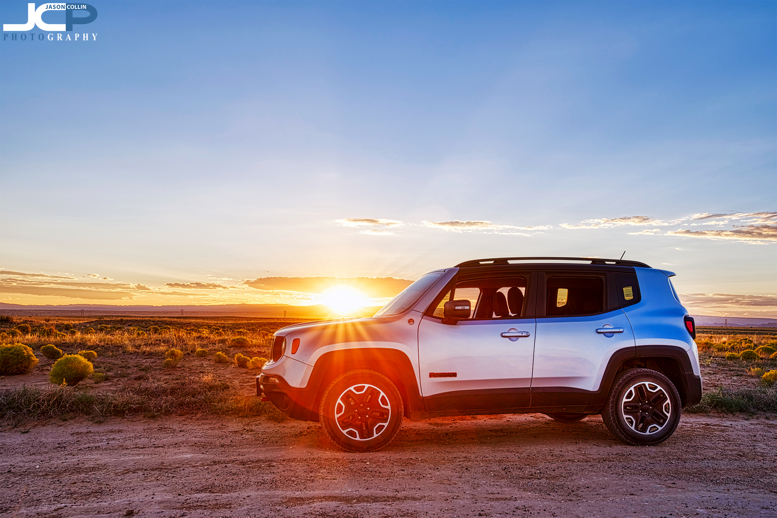 It's ok if your Jeep gets way in the sunset in the desert of New Mexico