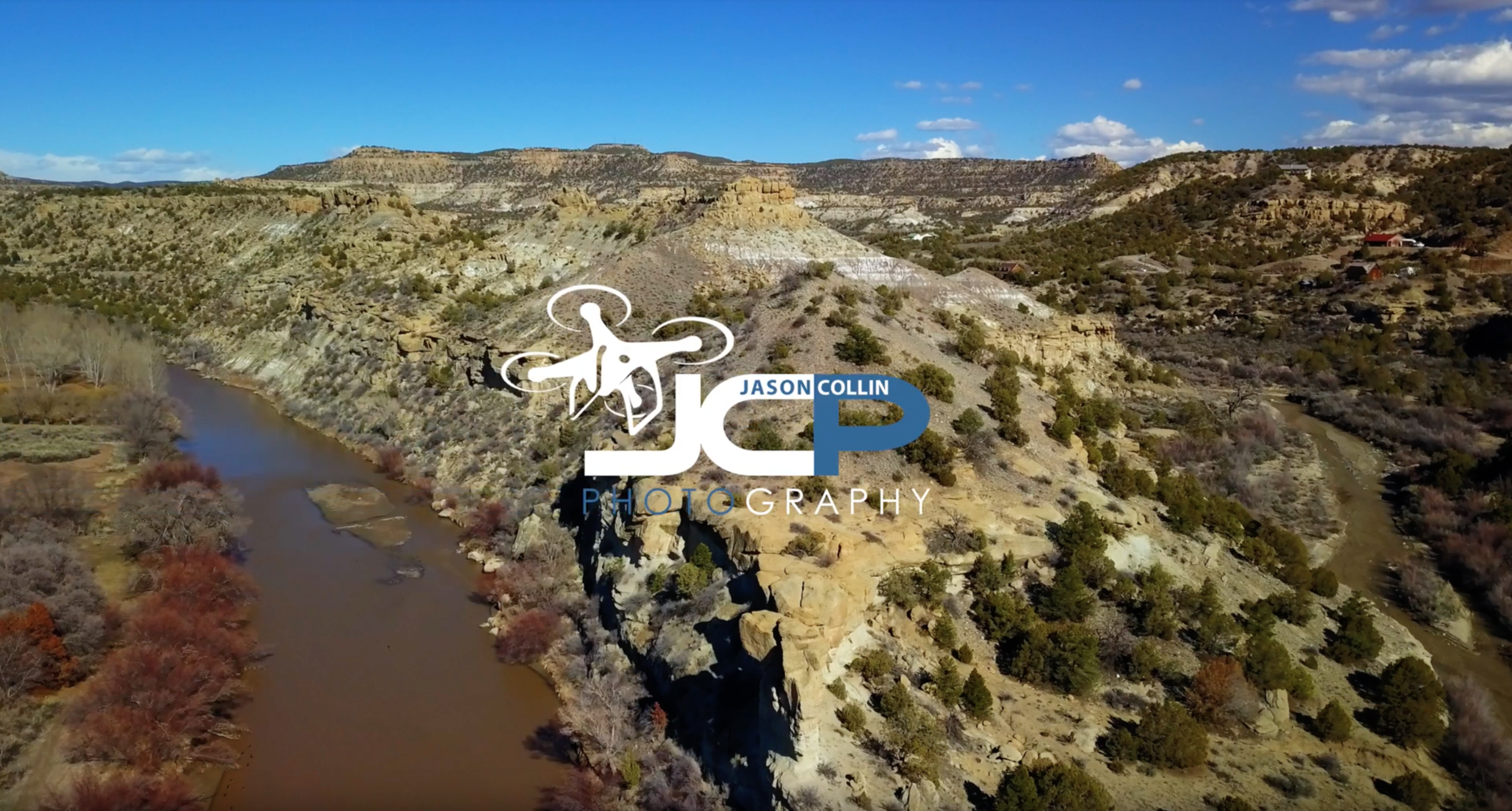Animas River drone video