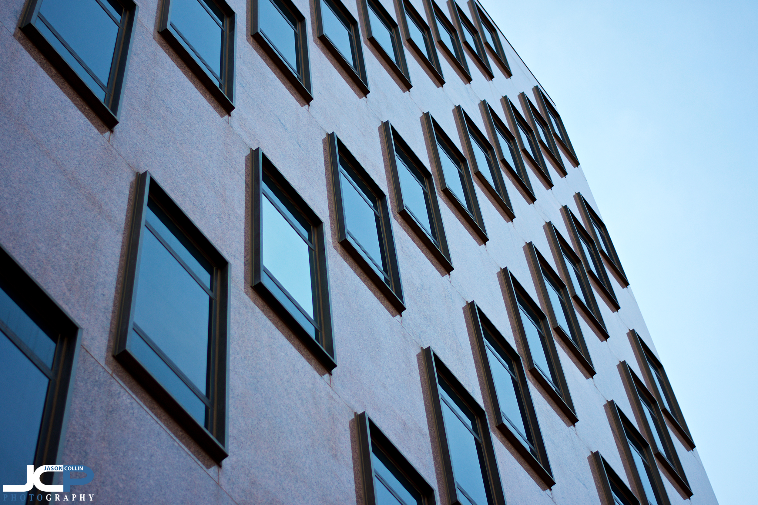 Repeating patterns are something I like to feature in architecture photography - Albuquerque New Mexico