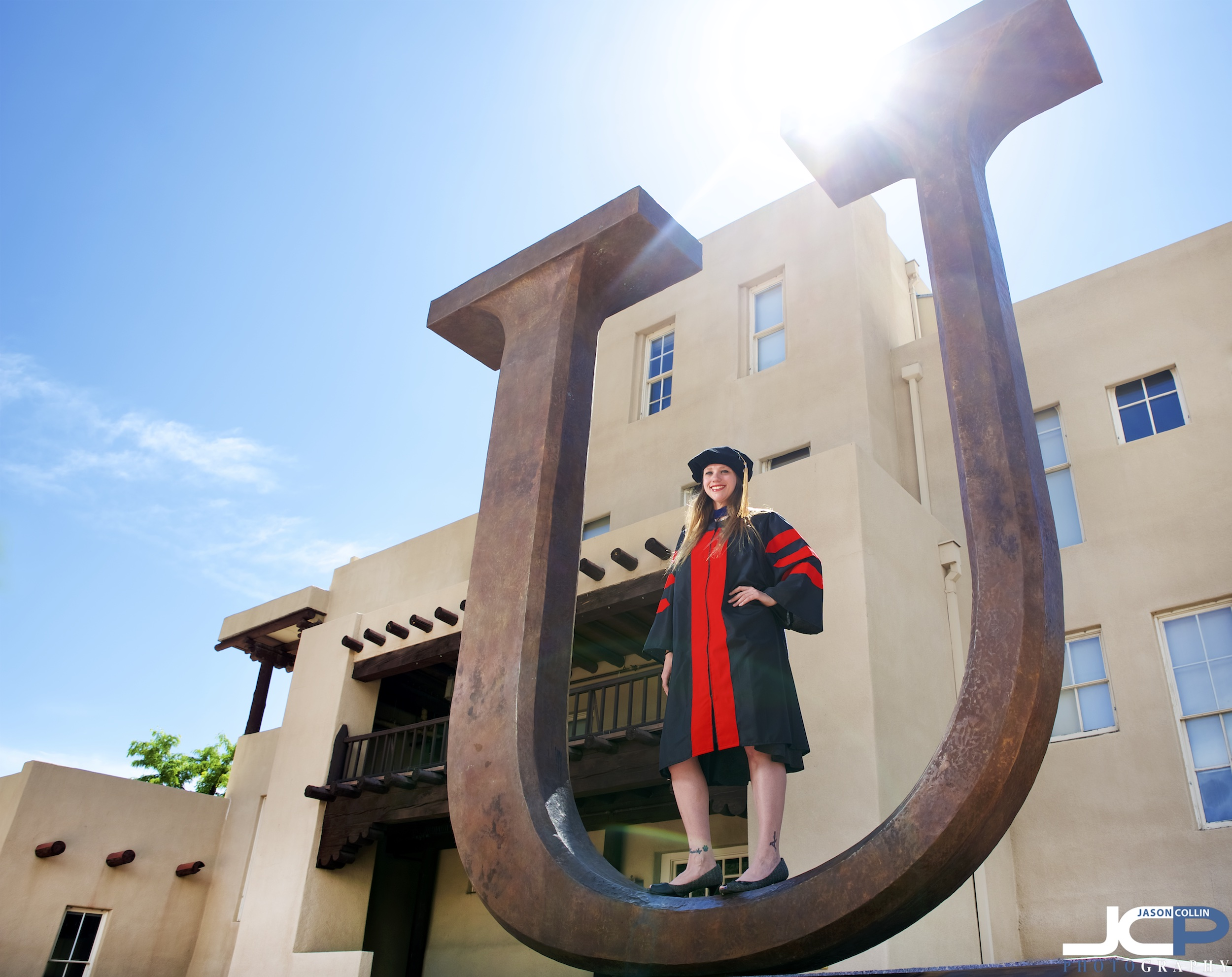 UNM PhD graduation portraits