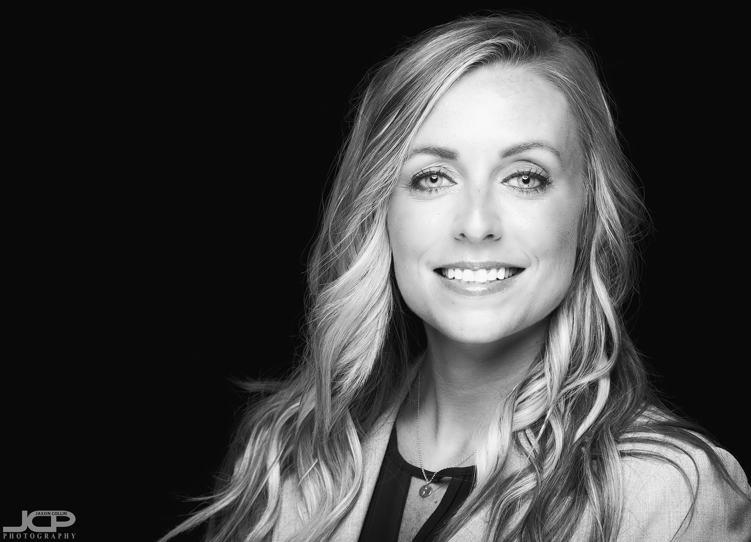 Matching a website's look with black & white headshots in Albuquerque New Mexico