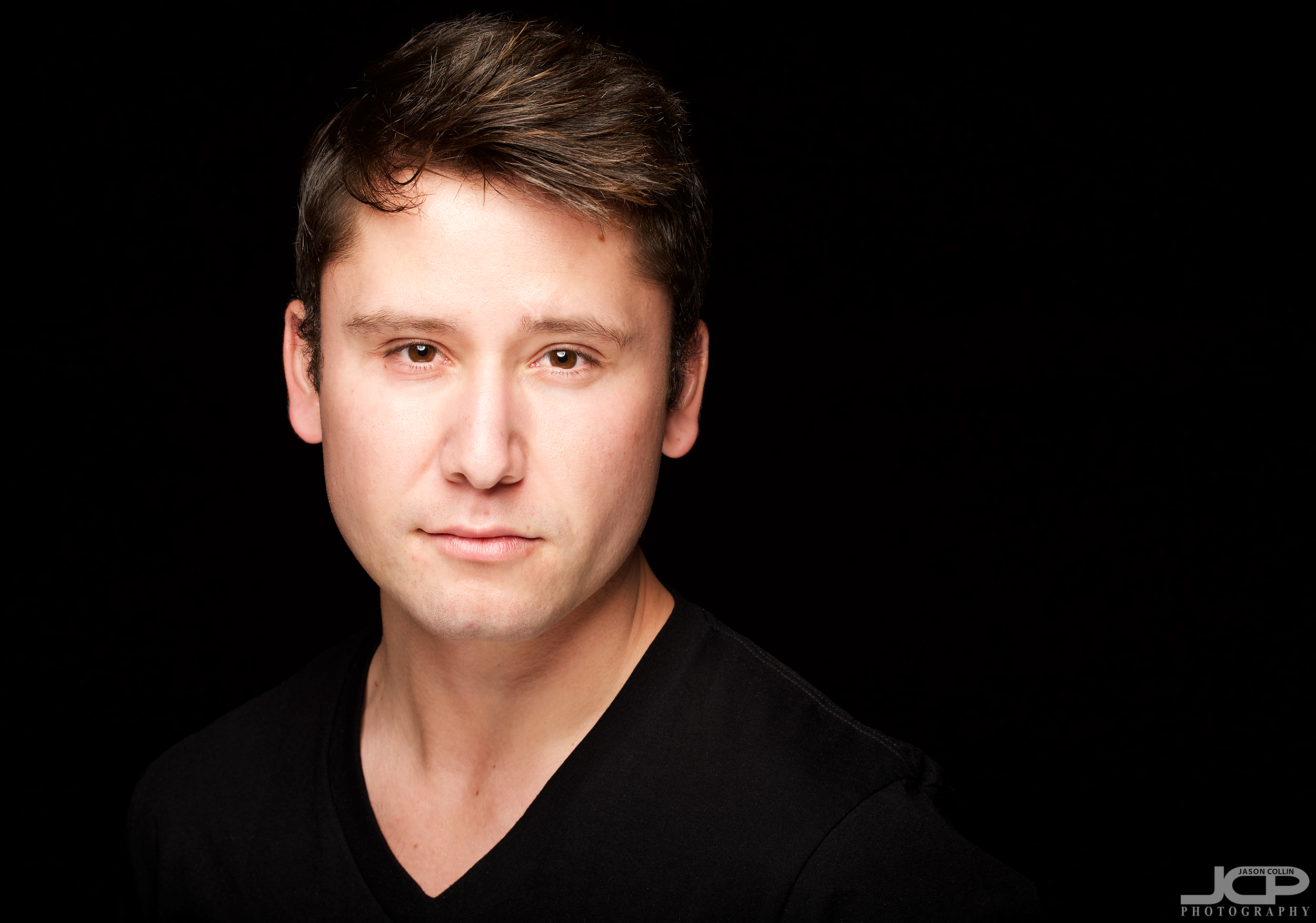 Jake returns to the JCP Home Studio for more actor headshots in Albuquerque New Mexico