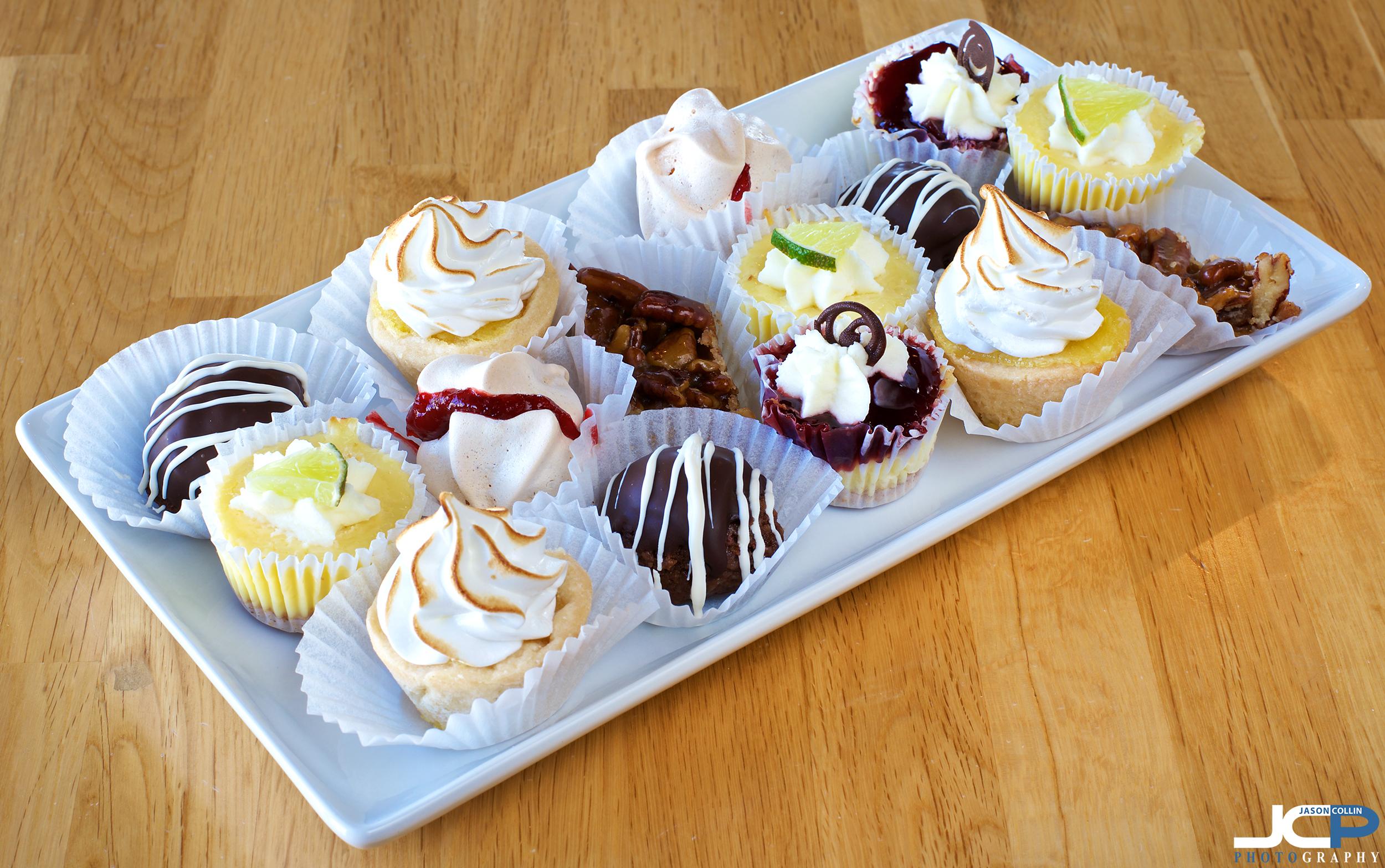 mini desserts Albuquerque food photography