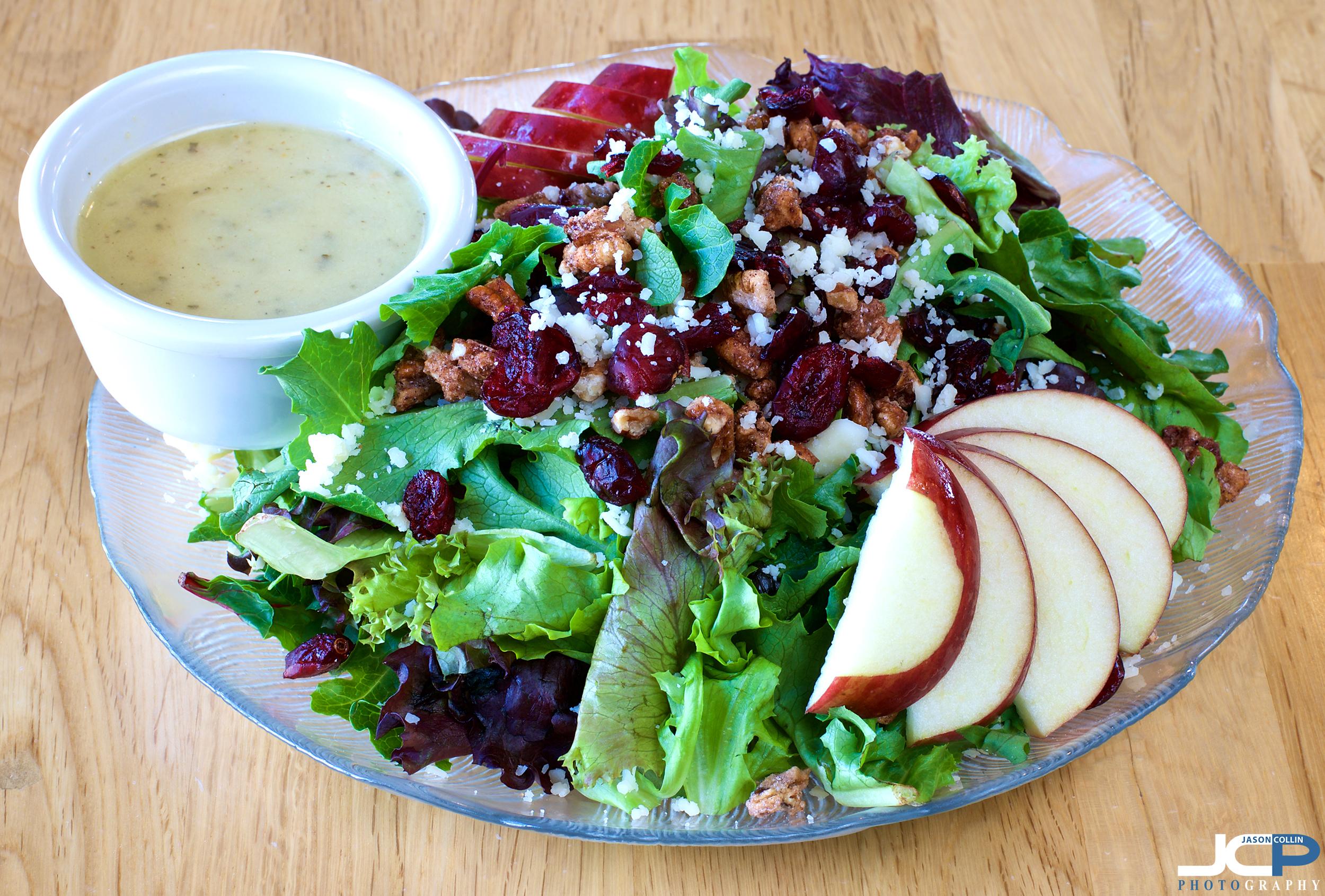 vermont apple salad food photography Albuquerque