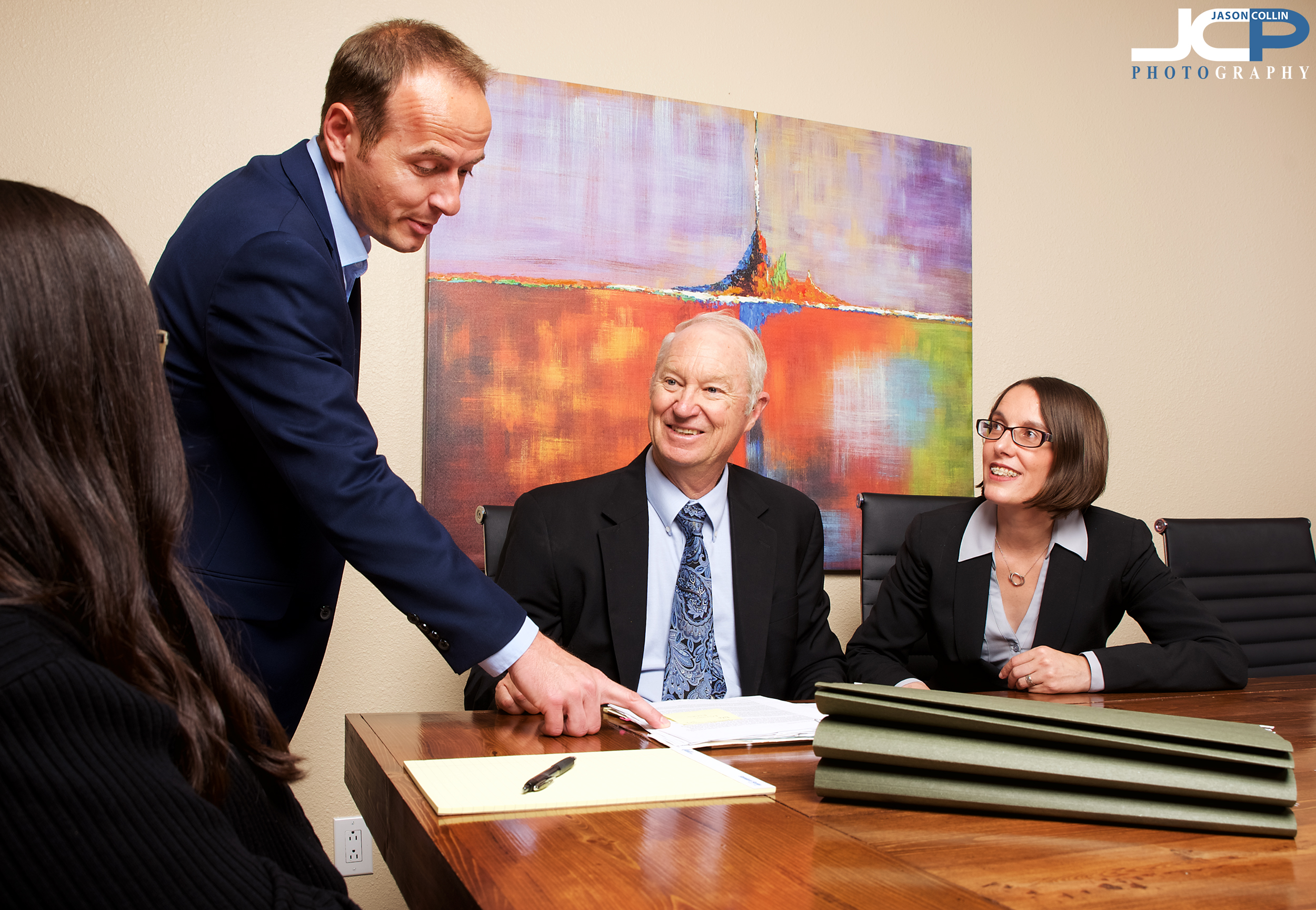 Better than stock photography, use your own staff and lawyers! - Albuquerque Commercial Photography