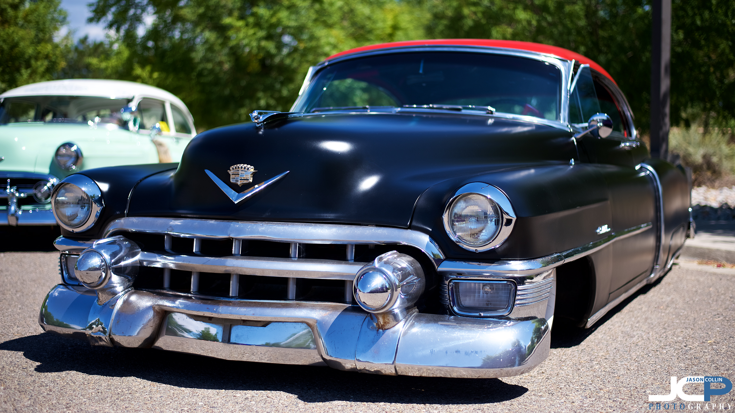 classic Cadillac photography