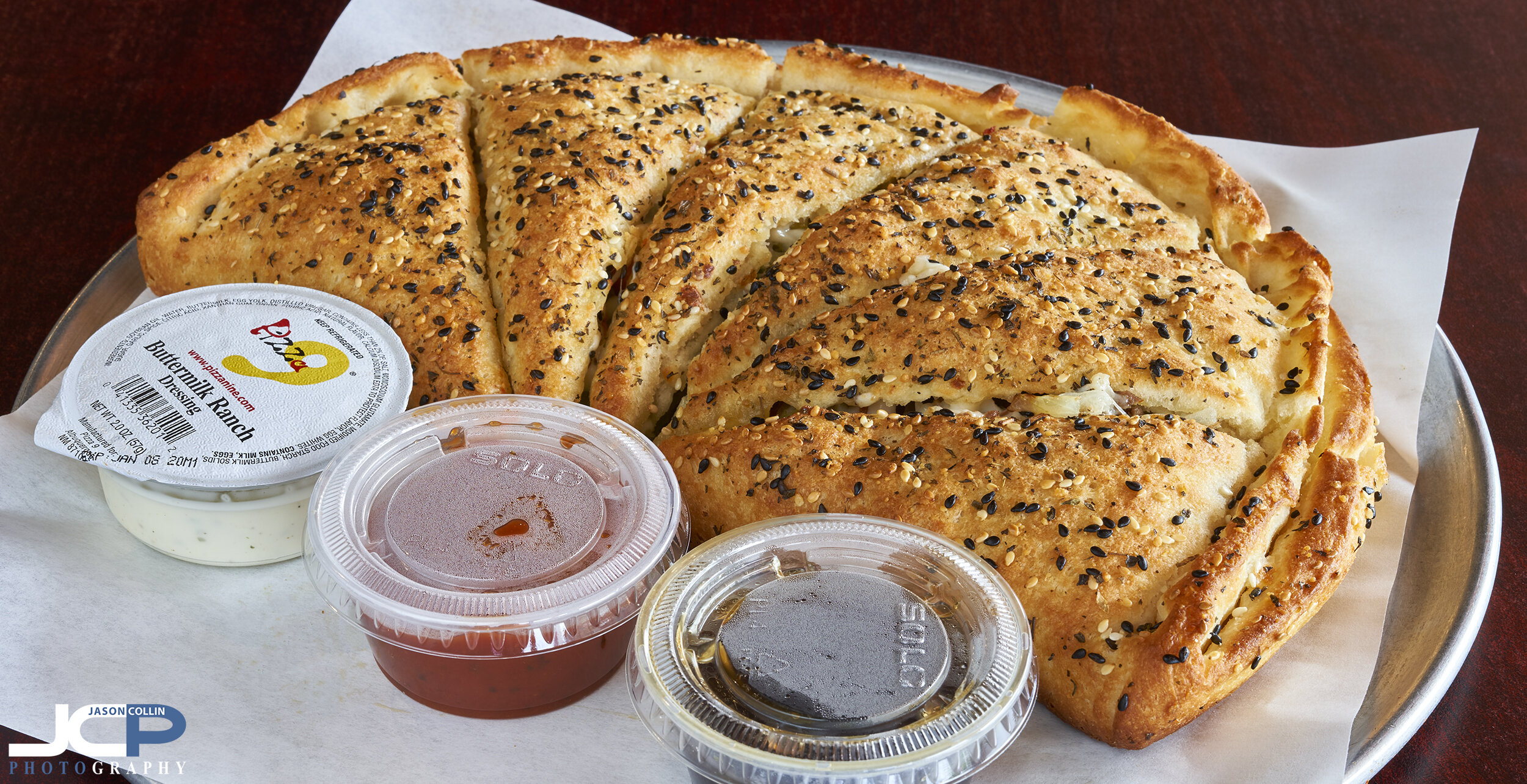 calzone professional food photography albuquerque