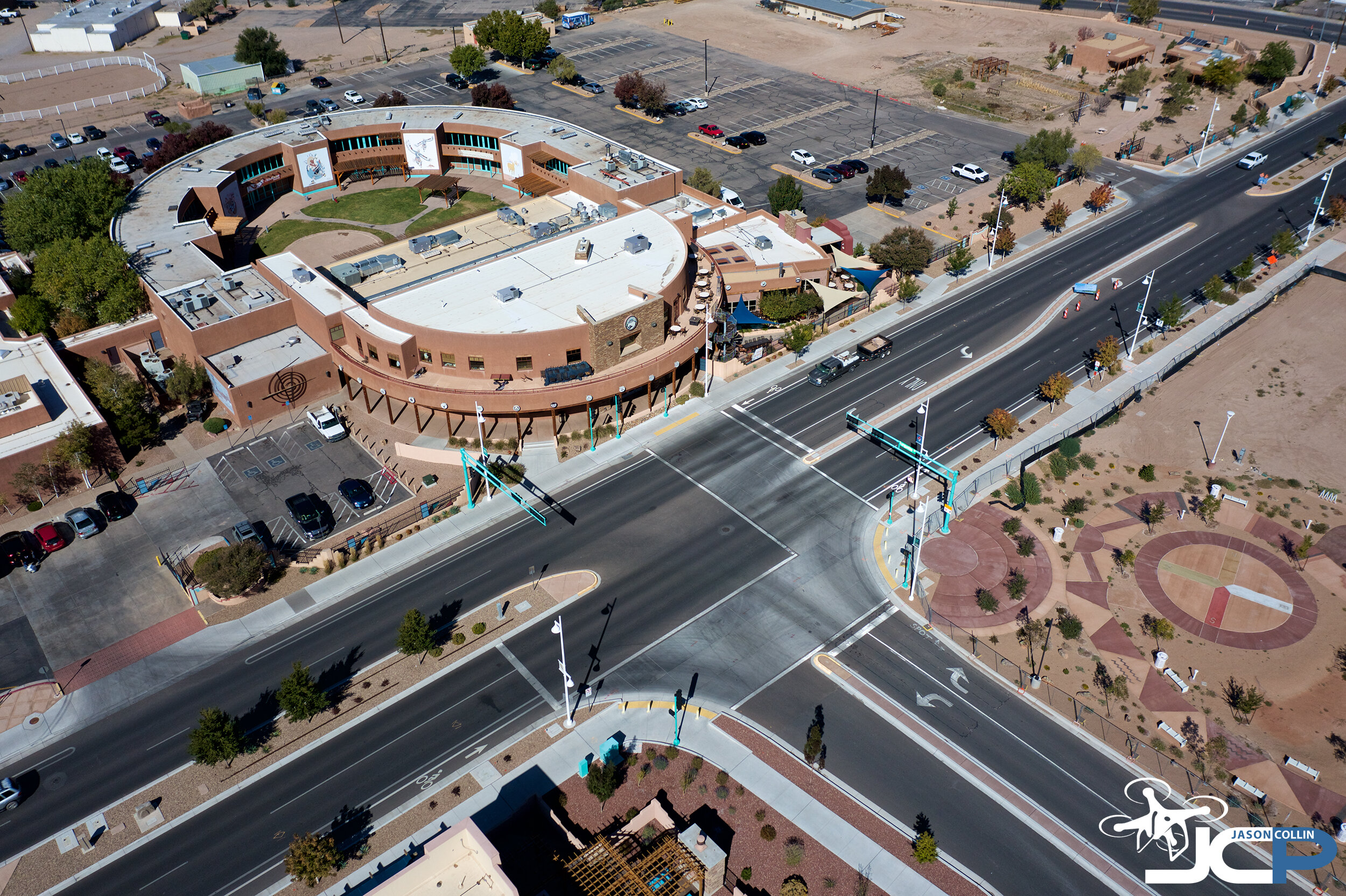 Commercial aerial drone photography for Albuquerque clients