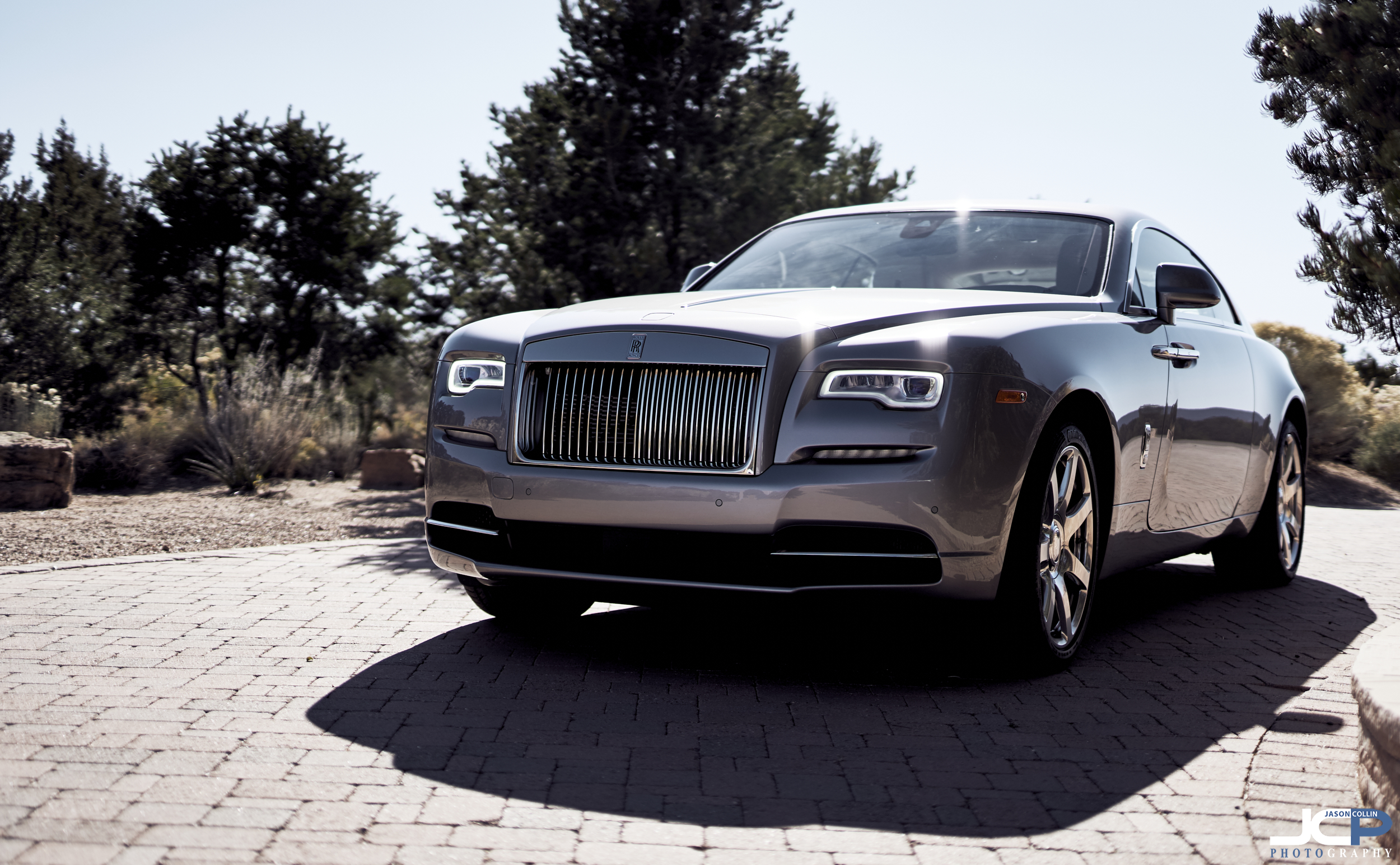The stunning Rolls-Royce Wraith photographed in Santa Fe, New Mexico