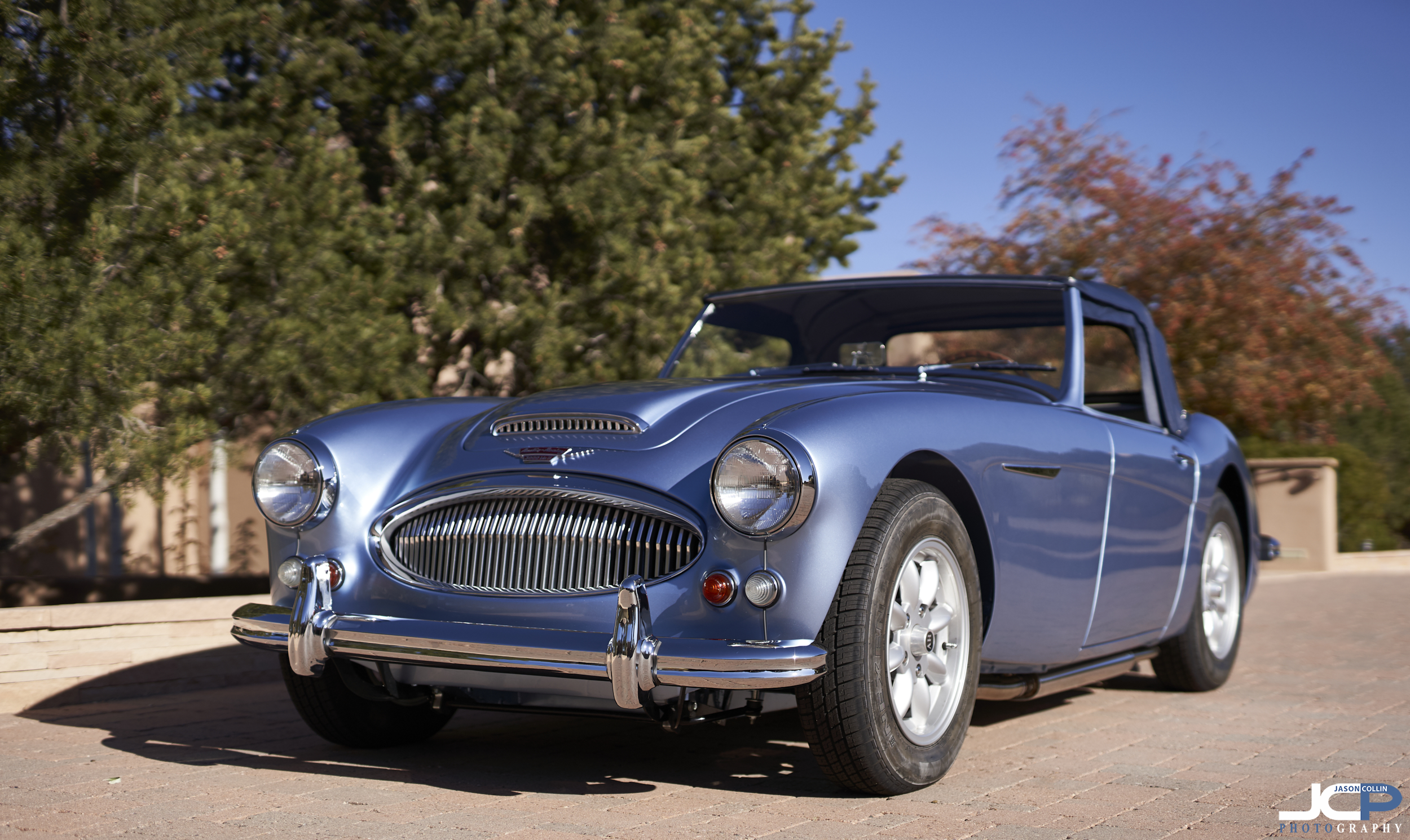 Austin Healey 3000 Mkii Professional Car Auction Photography In Santa Fe New Mexico Jason Collin Photography