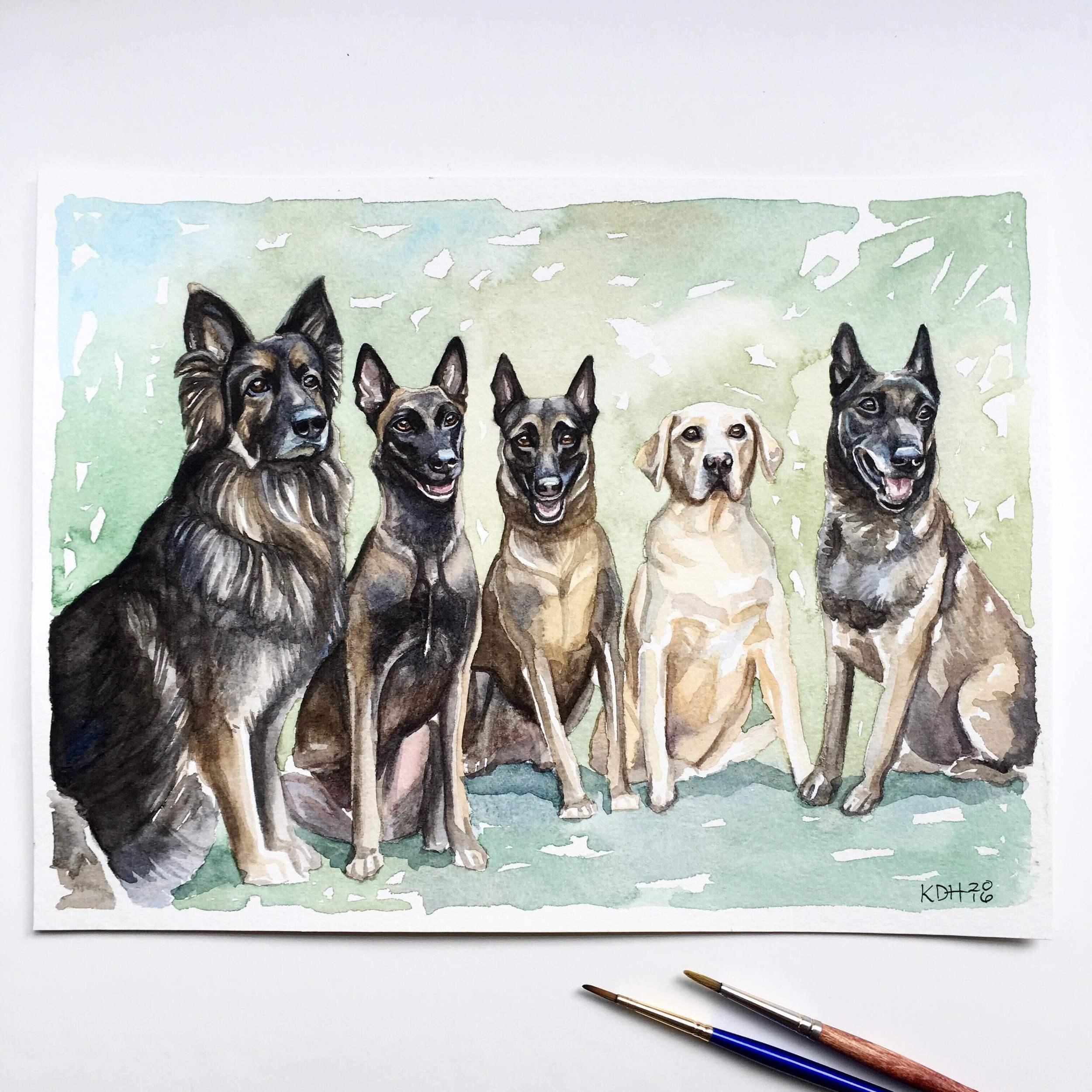 Sansone Dogs [9x12]