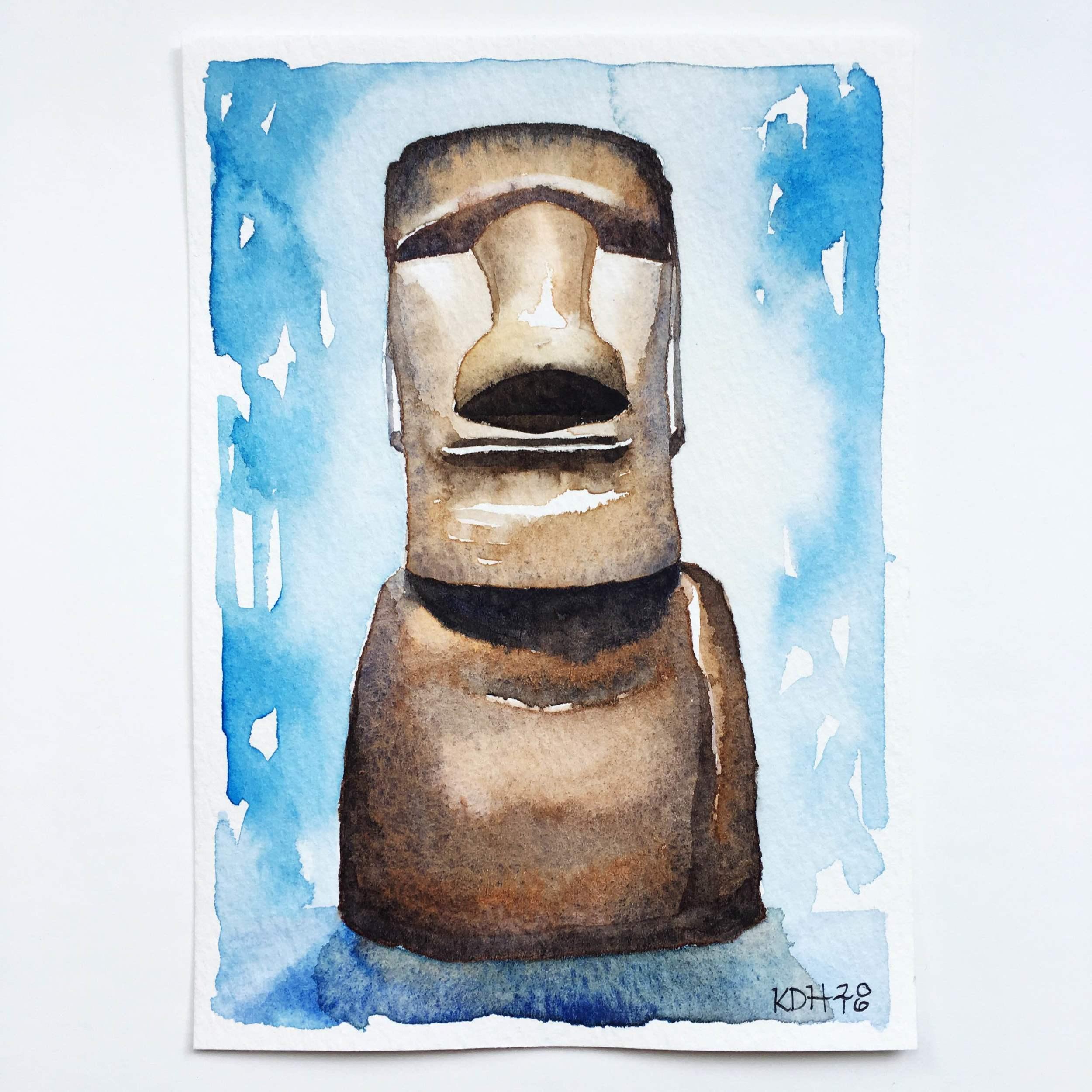 Easter Island NYC [5x7]
