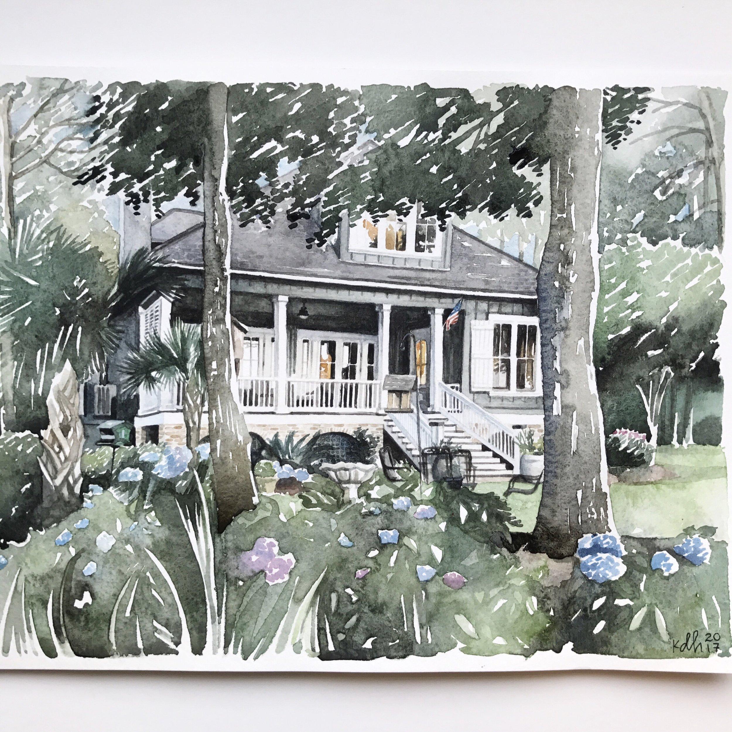 Alabama Home [11x14]