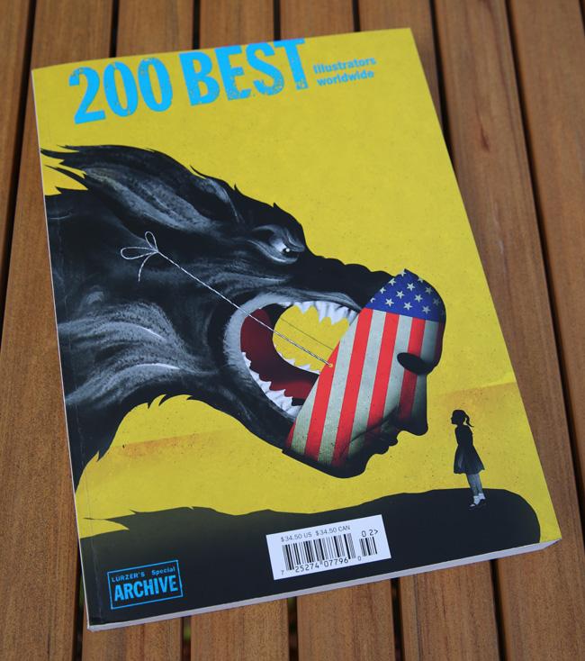 Scott Hull Associates' Lorraine Tuson Named 200 Best Illustrator in the World by Lurzer