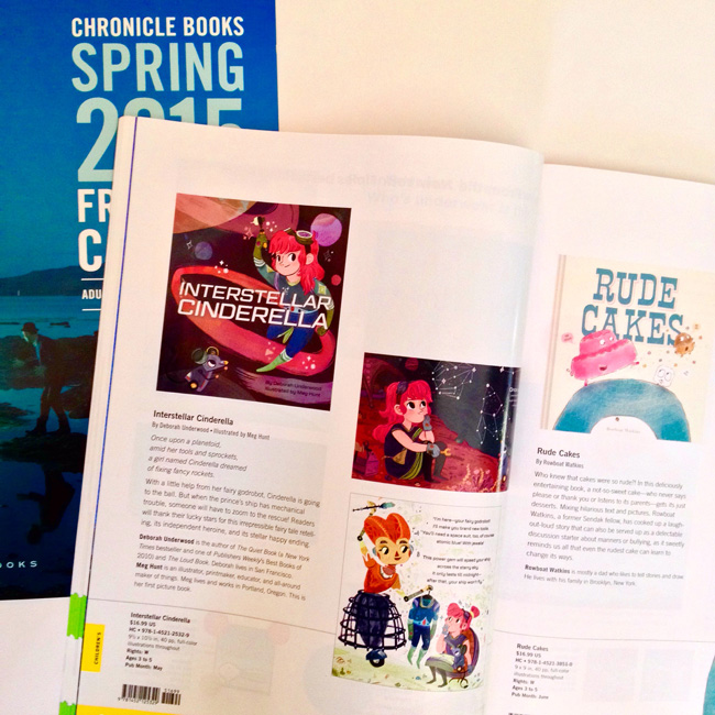 "Scott Hull Associates' Meg Hunt for Chronical Books ""Interstella Cinderella"""