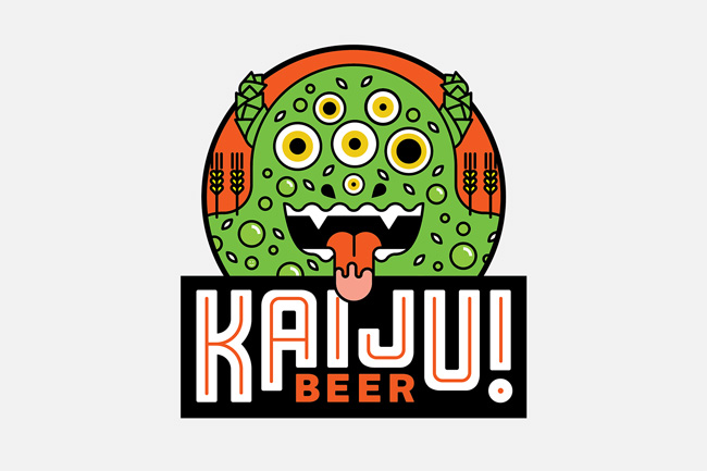 Scott Hull Associates Mikey Burton for Kaiju! label