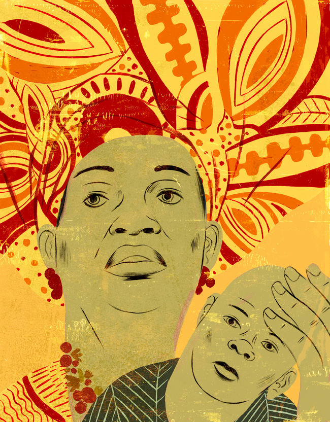 Curtis Parker for Health Progress Magazine of Nigerian Woman