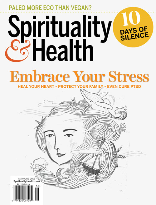 Penelope Dullaghan with Scott Hull Associates, sketch_stormysea for Spirituality&Health