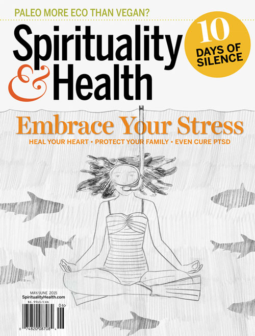 Penelope Dullaghan with Scott Hull Associates, sketch sharks for Spirituality&Health