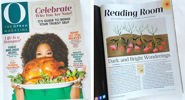 Penelope Dullaghan from Scott Hull Associates with O, the Oprah magazine illustration