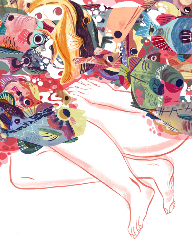 Meg Hunt from Scott Hull Associates on Panic. A Gold Medal winner from the Society of Illustrators NY!