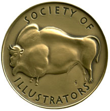 Gold Medal from the Society of Illustrators NY