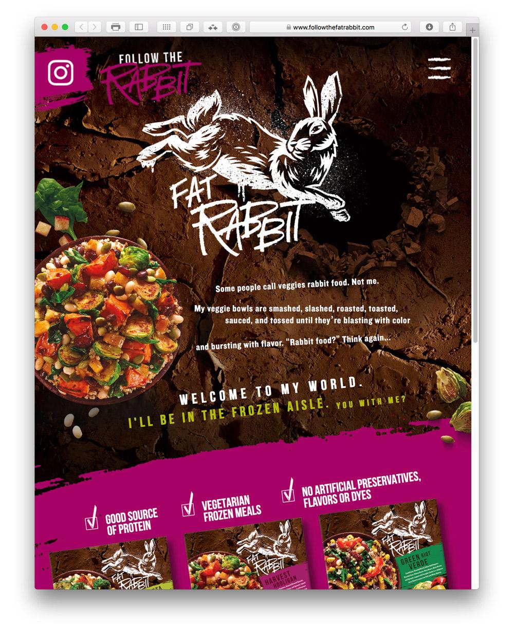 Fat Rabbit Web Site