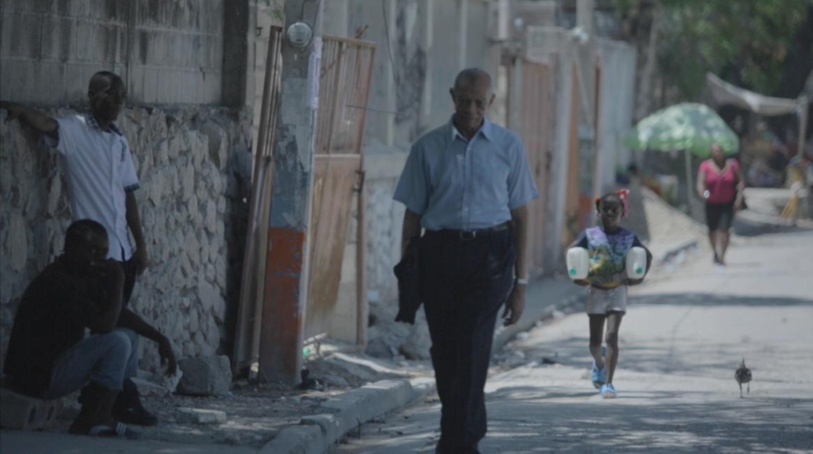 Father William Smarth in Port Au Prince