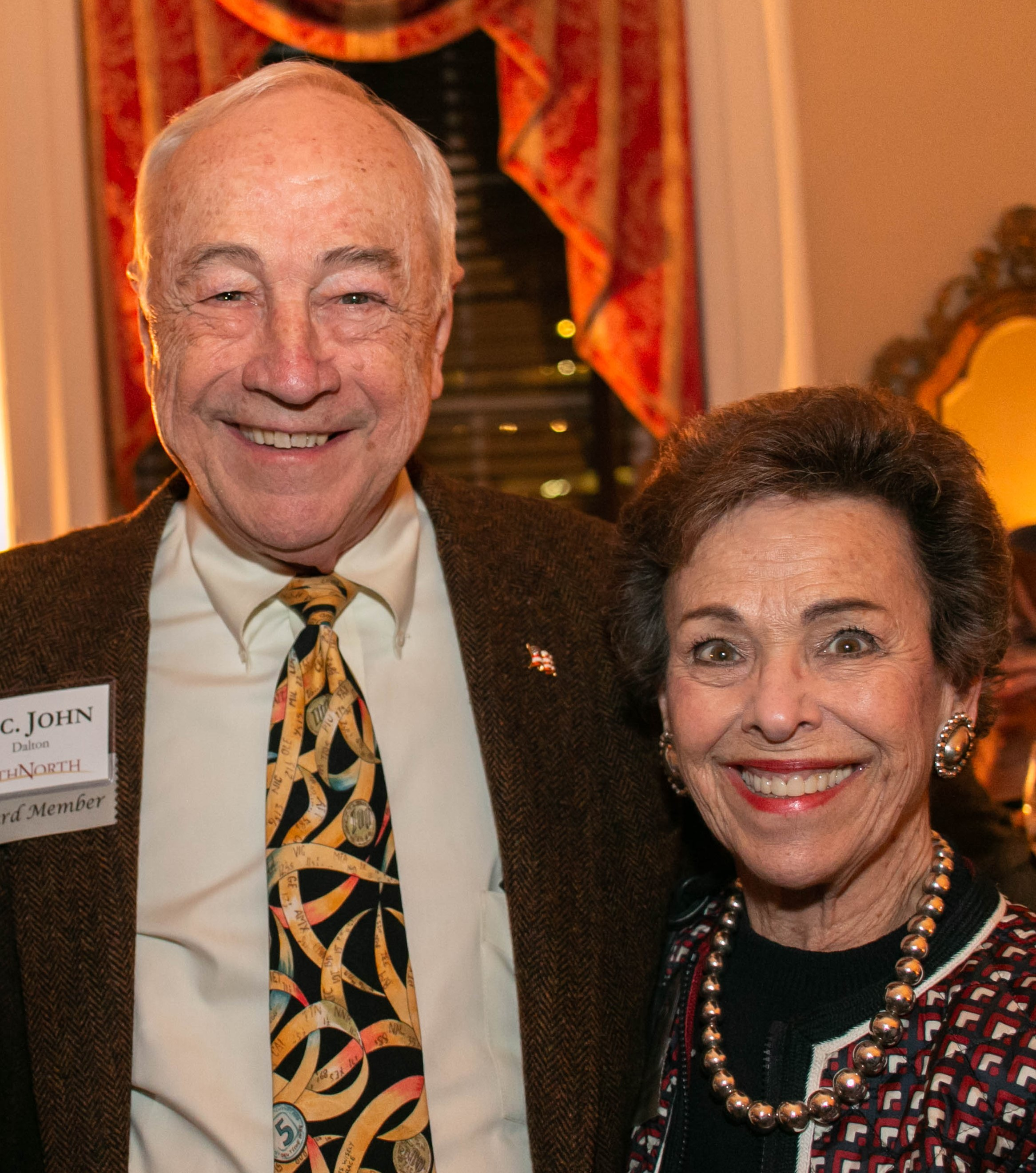 Secretary John & Margaret Dalton at the 2019 PathNorth Annual Gathering