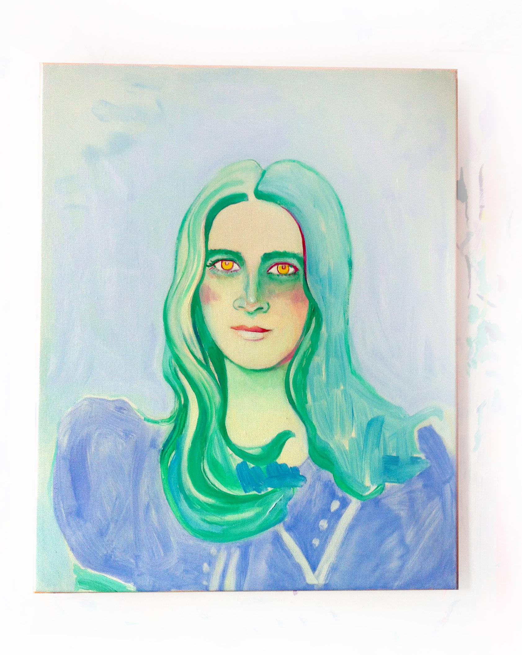 marina, oil on canvas, 20 x 22 in.2014