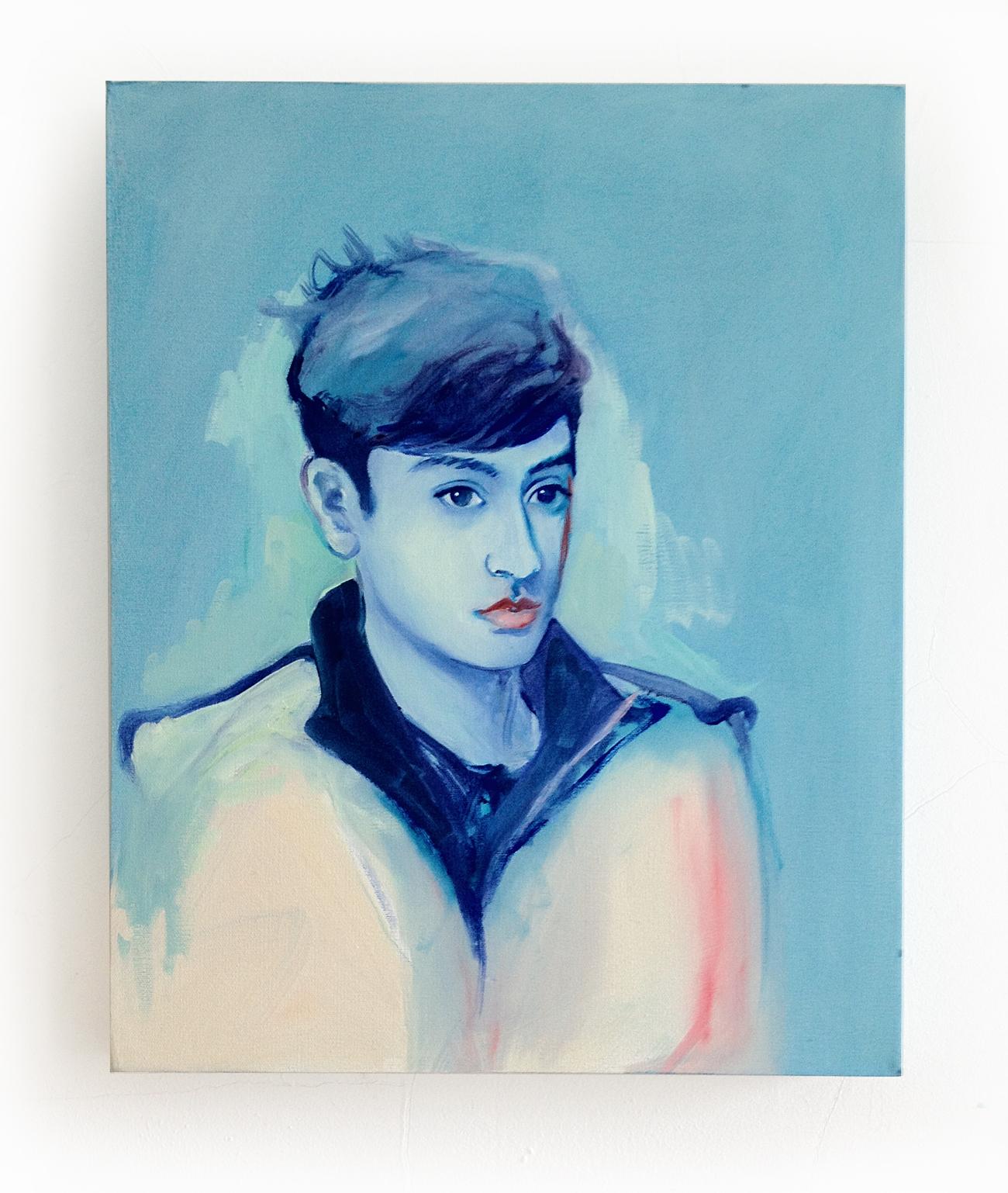 joni boi, oil on canvas, 20 x 22 in.2013
