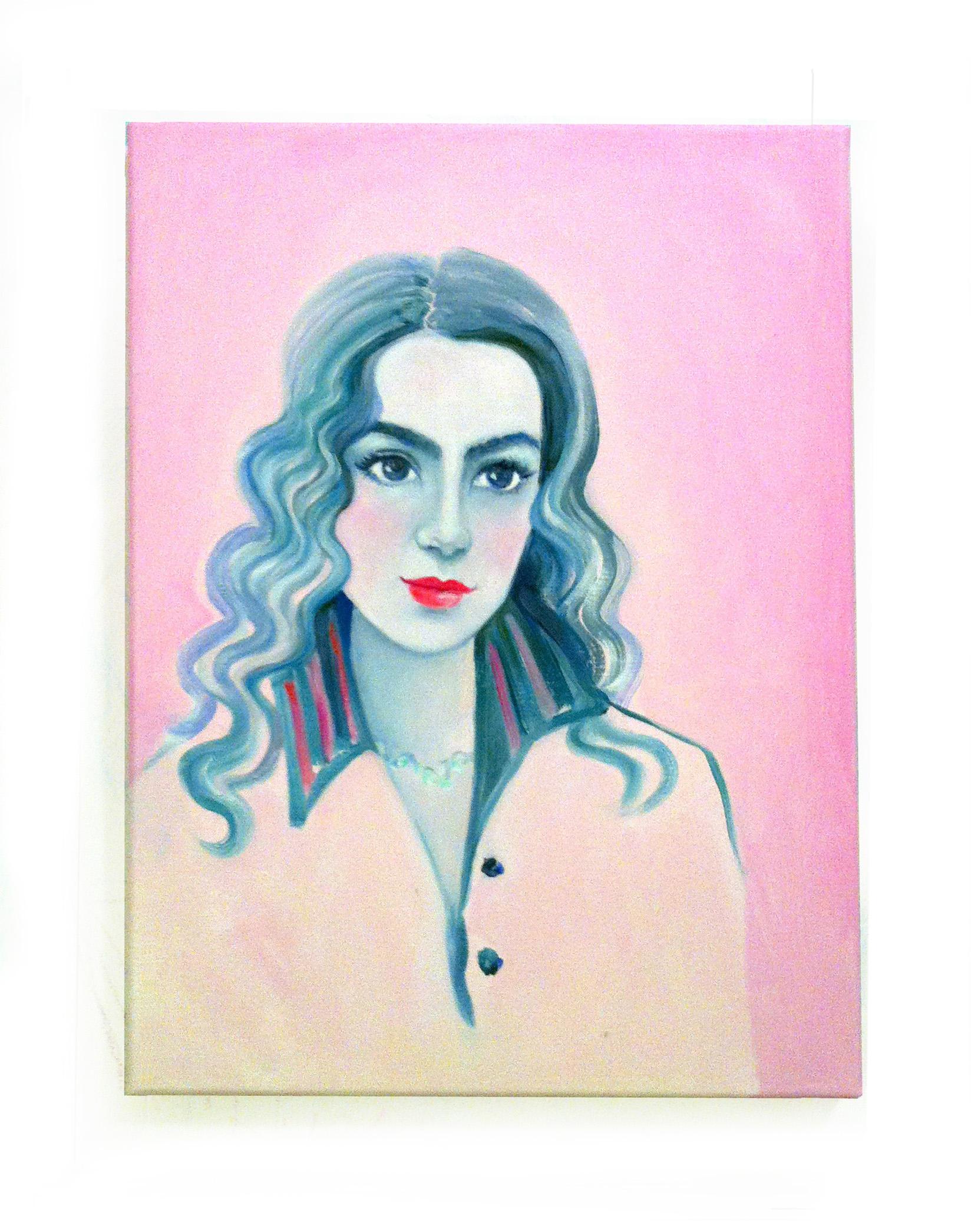 carlita, oil on canvas, 11 x 14 in. 2014
