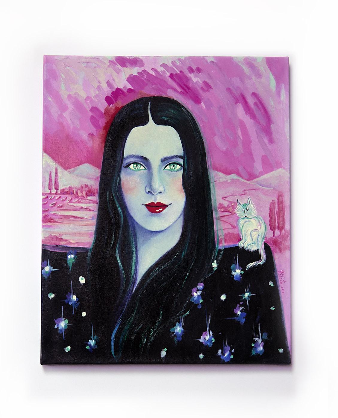 valeria, oil on canvas, 16 x 20 in. 2013