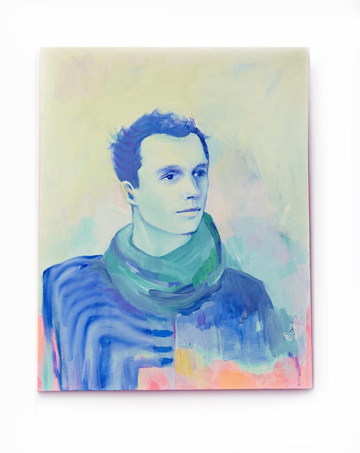 pawel voz, oil on canvas, 16 x 20 in. 2014