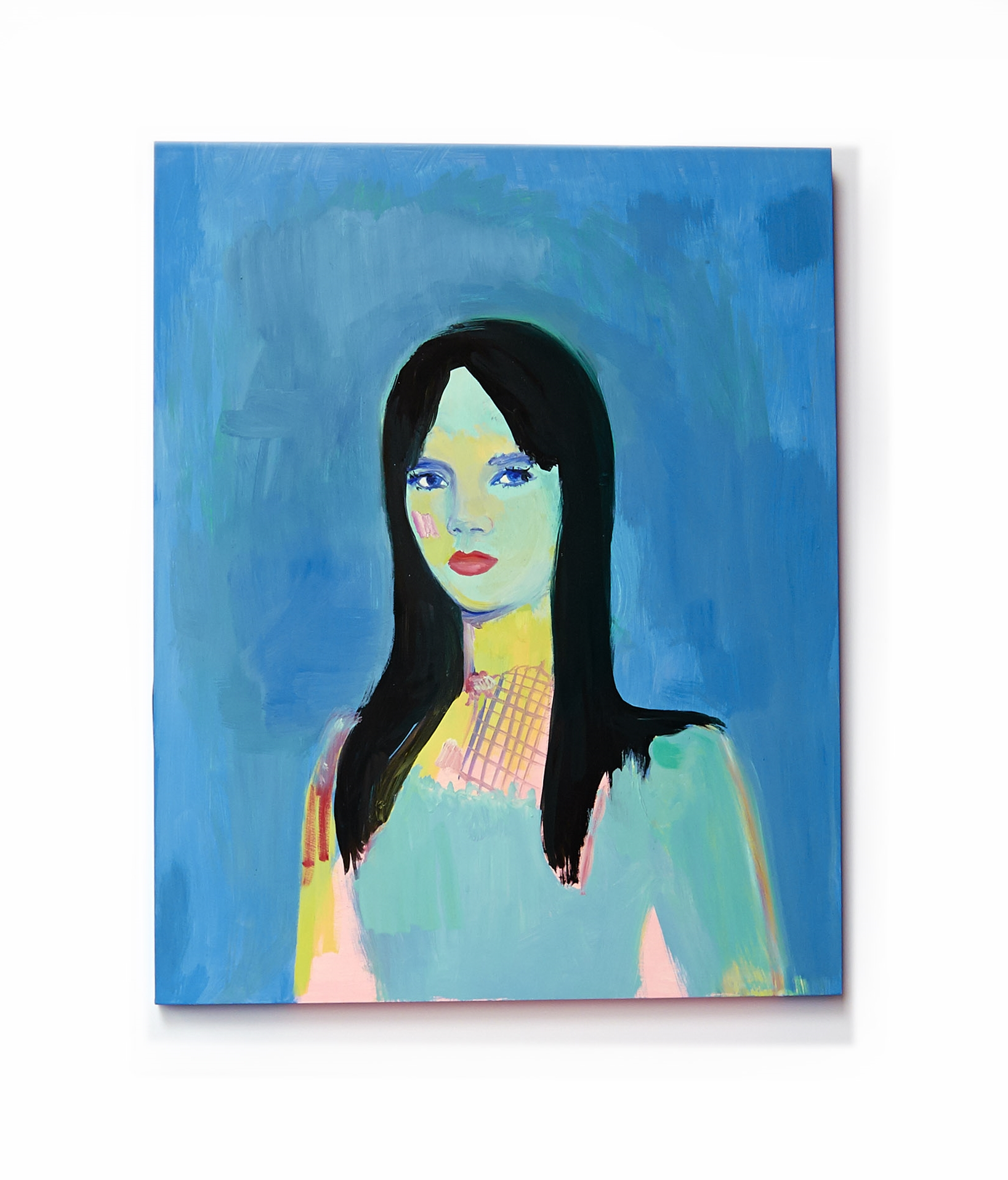 Bliss, oil on wood, 16 x  20 inches,  2012 © Pilita Garcia