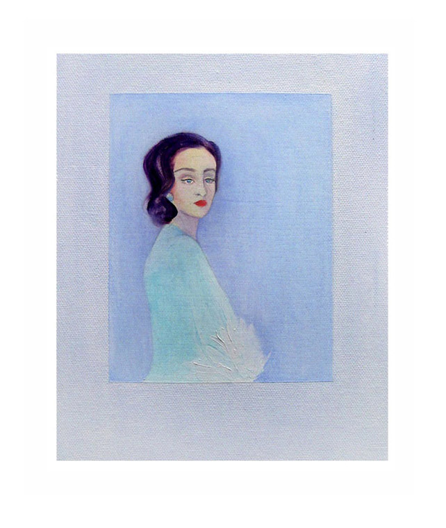 Blunt, oil on canvas, 8 x 10 inches,  2011 © Pilita Garcia