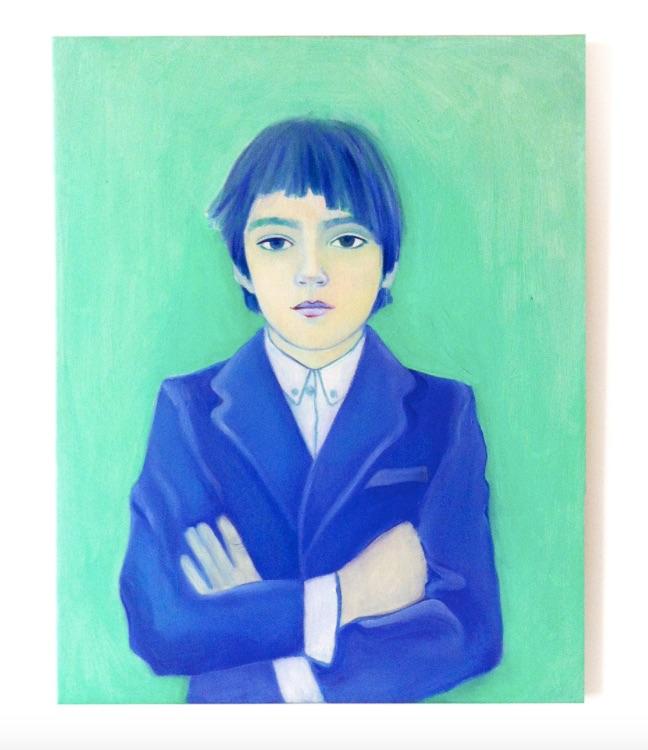 syd rowan, oil on canvas, 20 x 22 in.2013