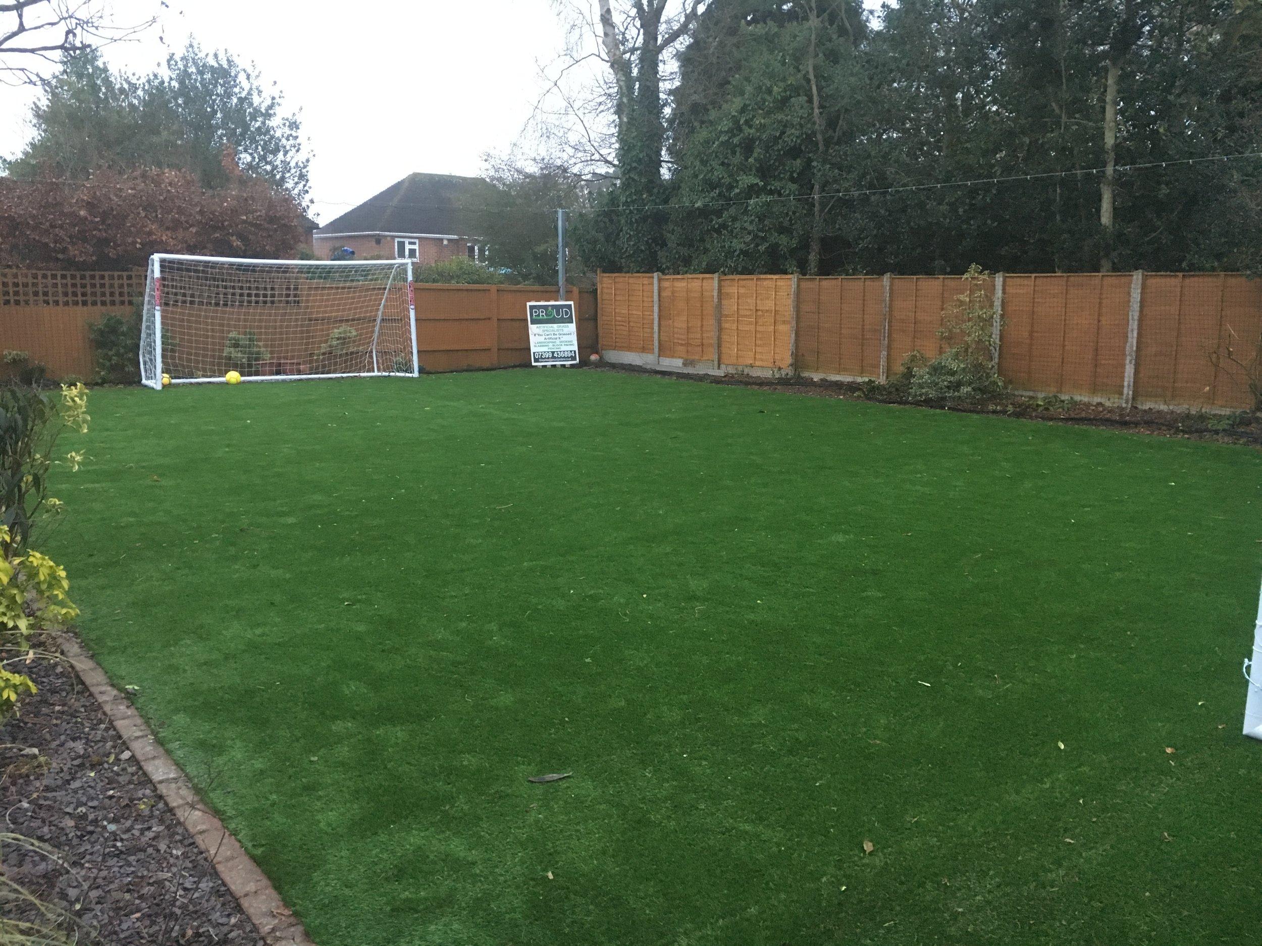 Artificial Grass for Children's football