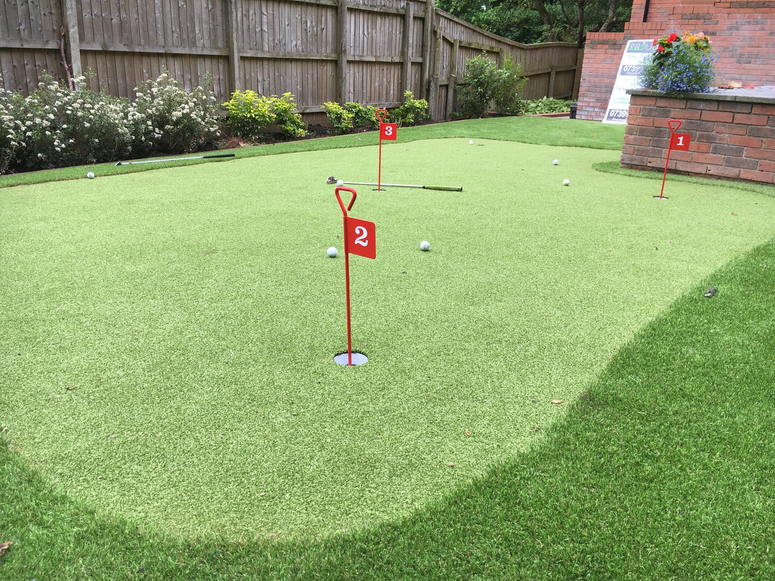 Putting Green Artificial Grass
