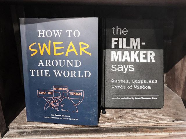 I happened to find two books that define my personal interests. 💁🏼‍♀️😉 • • • • • #liveauthentic #womeninbusiness #fempreneur #setlife #productionlife #filmmaking #crewlife #femtrepreneur #tnchustler #beingboss #communityovercompetition #inspirationdaily #femalepreneur #creativepreneur #theeverydaygirl #pursuewhatislovely #girlbosses #thatauthenticfeeling #darlingmovement #abmhappylife #howyouglow #theeverygirl #indiefilmmaker #torontofilm #torontofilmmakers #sidehustle #kriselsley #torontostrong #torontogirl #riseandgrind