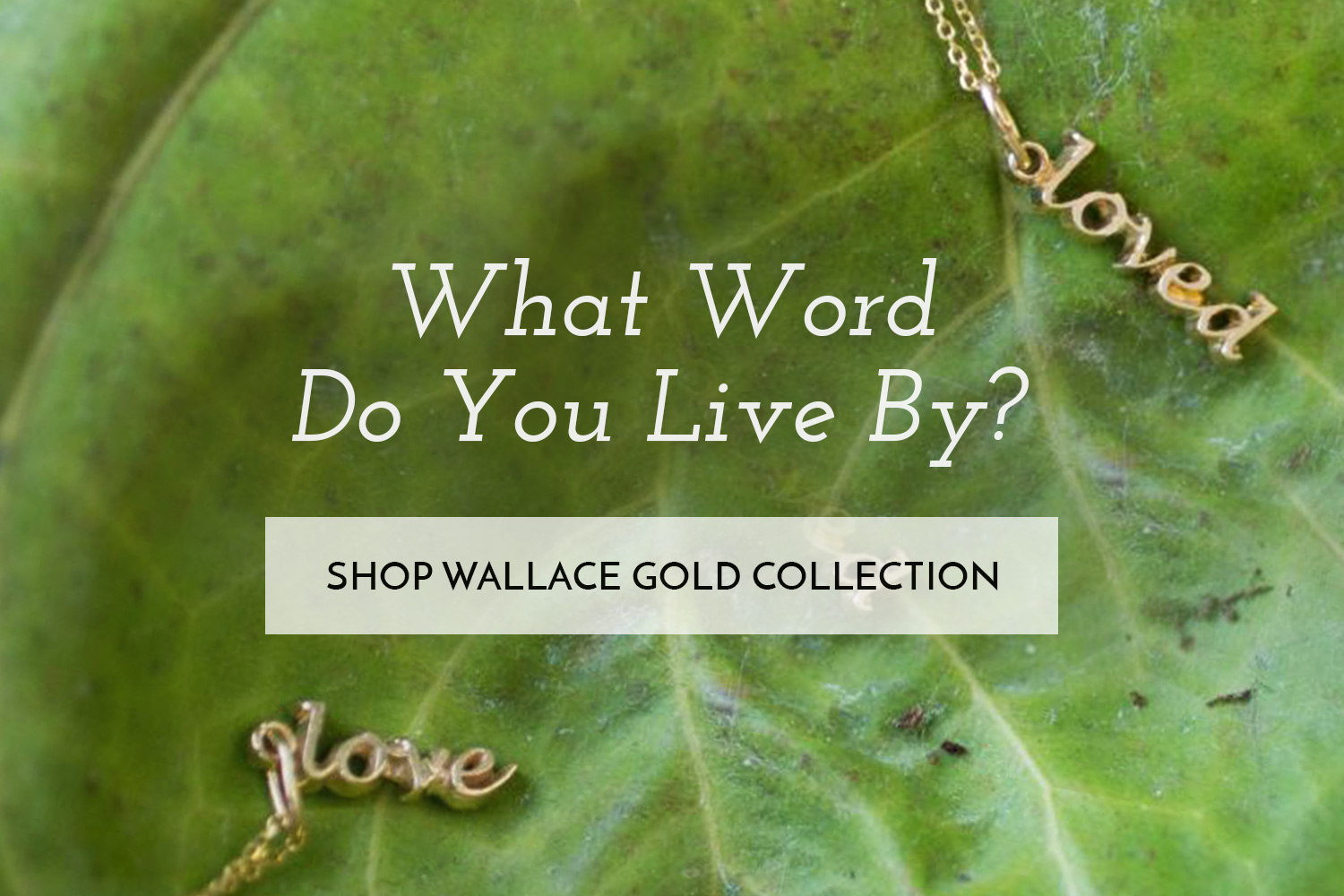 Shop Wallace Gold Collection