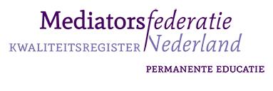 - Mediatorsfederatie Nederland (MfN) is de autoriteit op het gebied van mediation in Nederland. Eén register als kwaliteitsstempel binnen de mediation-branche, dé bindende factor tussen mediators met een diversiteit aan expertises en achtergronden. Het MfN-register: het grootste kwaliteitsregister van mediators in Nederland.