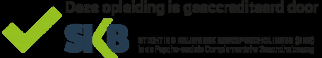 - De Stichting Keurmerk Beroepsscholingen (SKB) richt zich op onafhankelijke registratie en kwaliteitstoetsing van beroepsopleidingen en bij- en nascholing op het gebied van de complementaire zorg, met name gericht op de Psychosociale zorg, alsmede het toekennen en uitgeven van een keurmerk aan beroepsopleidingen, die voldoen aan de keurmerkcriteria, welke zijn beschreven in hun Keurmerkprofiel.