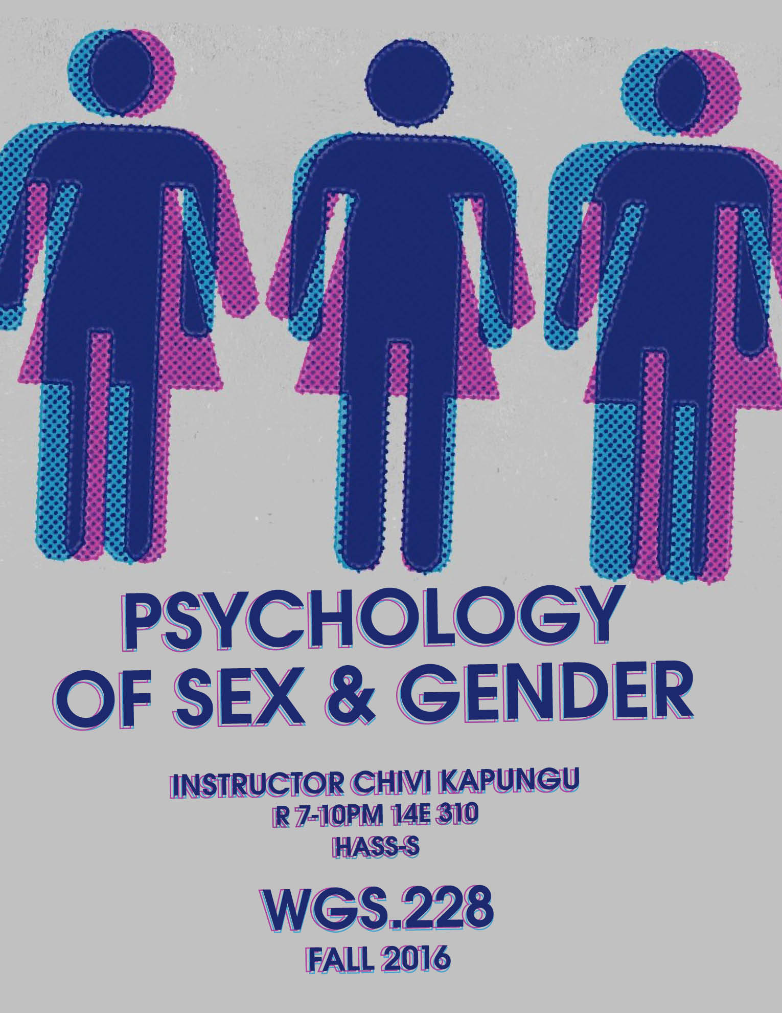 WGS.228   Psychology of Sex and Gender   Register Now