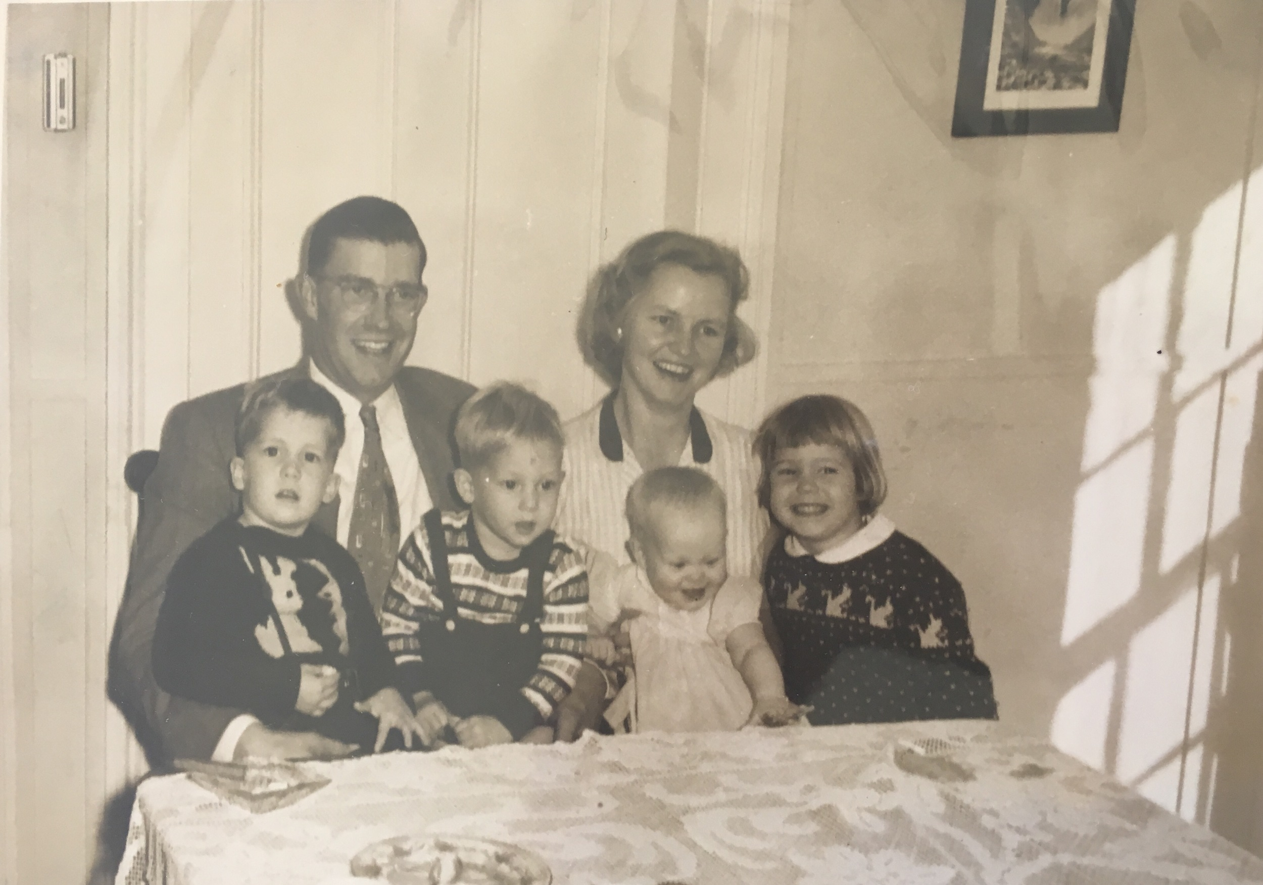 The family, 1953.