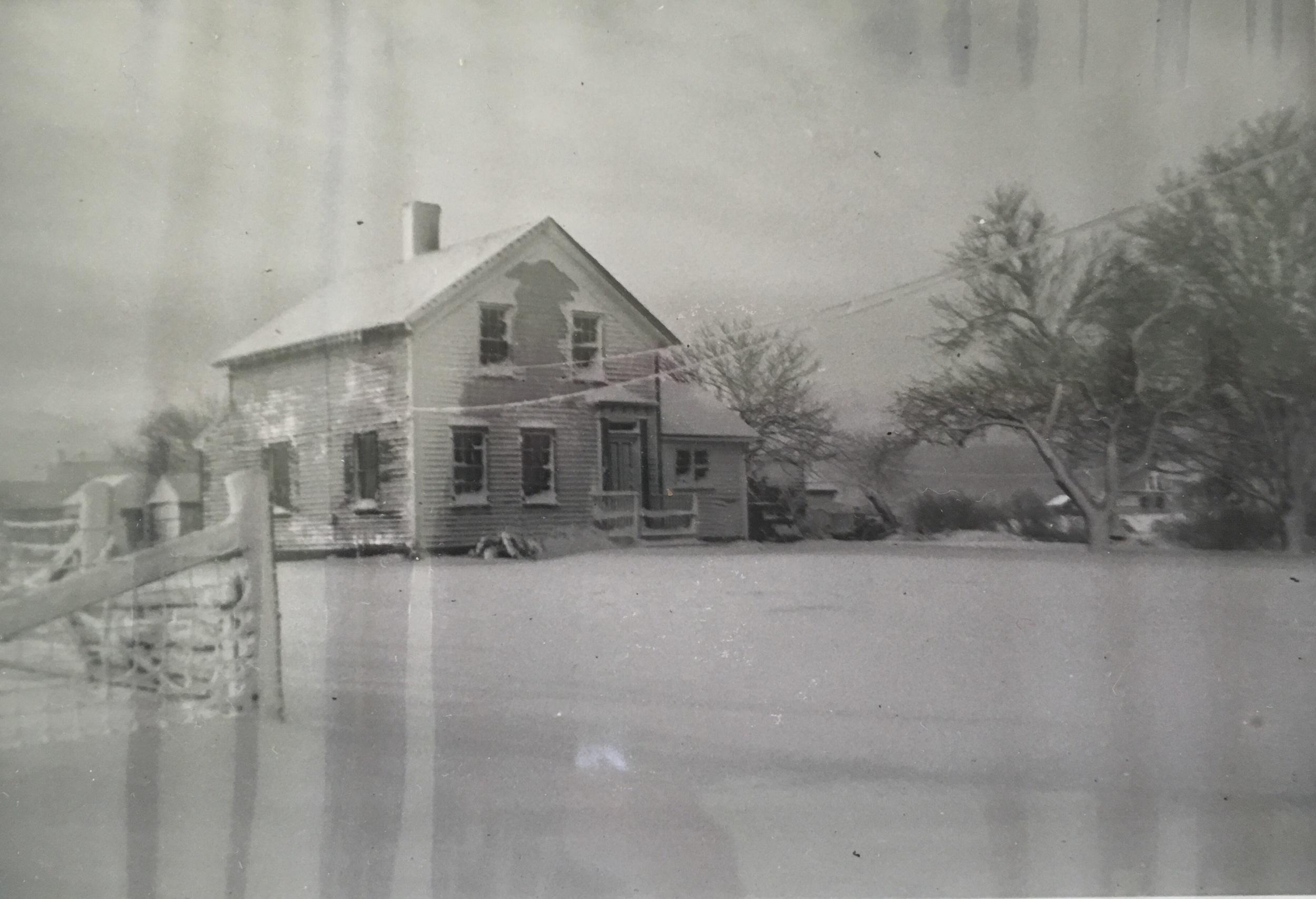The house, built 1870.